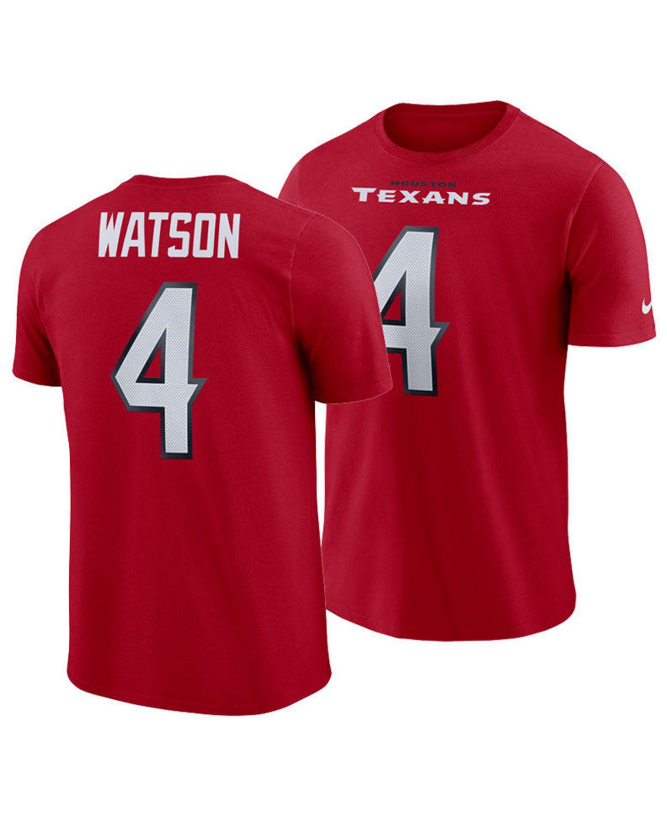 06a2776d1d27 ... t shirt 0gneleuu f7428 78b12  where can i buy nike. mens red deshaun  watson houston texans pride name and number