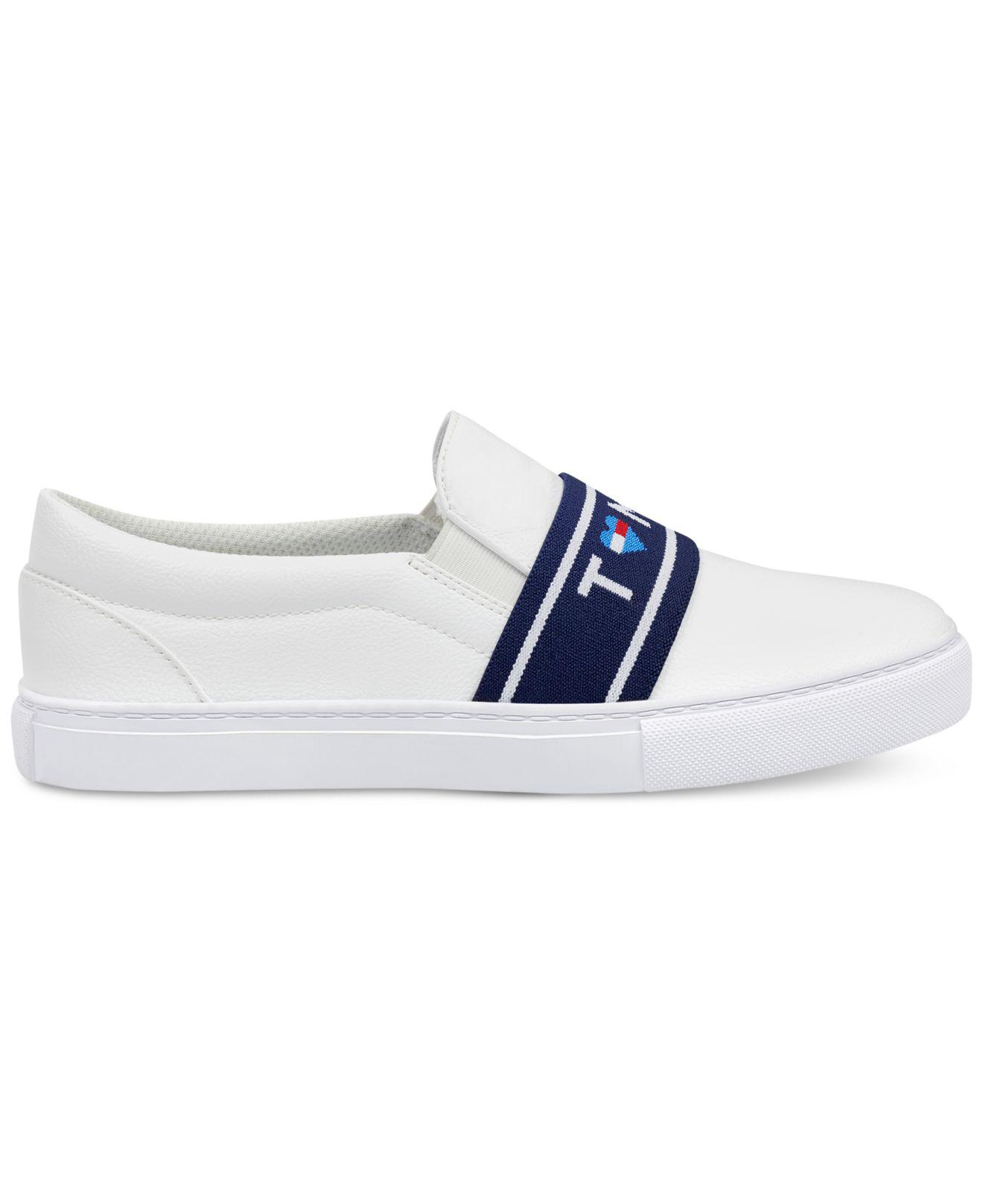 d24f76ff Tommy Hilfiger Lourena Slip-on Fashion Sneakers in White - Lyst
