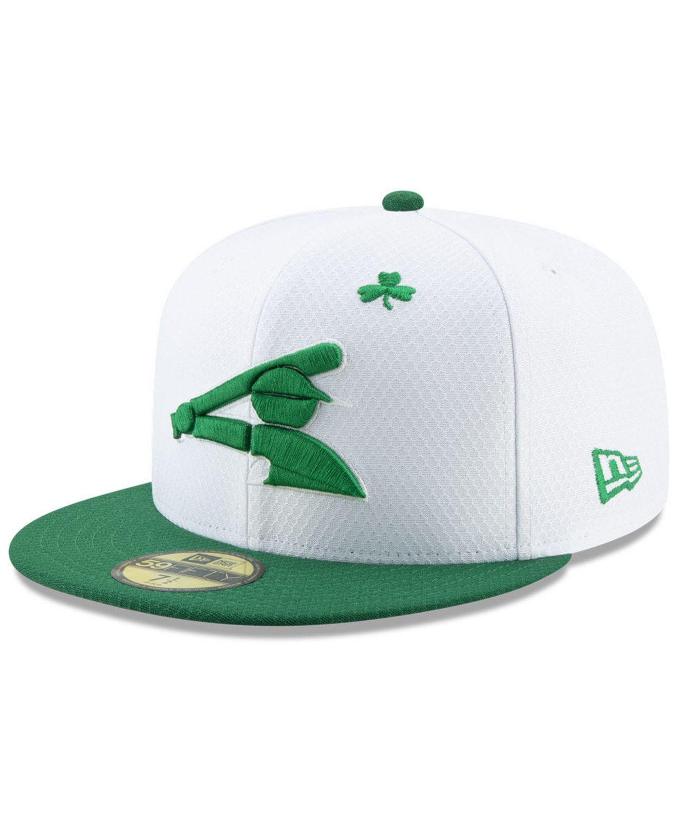 save off 40143 8df61 KTZ. Men s Chicago White Sox St. Pattys Day 59fifty-fitted Cap