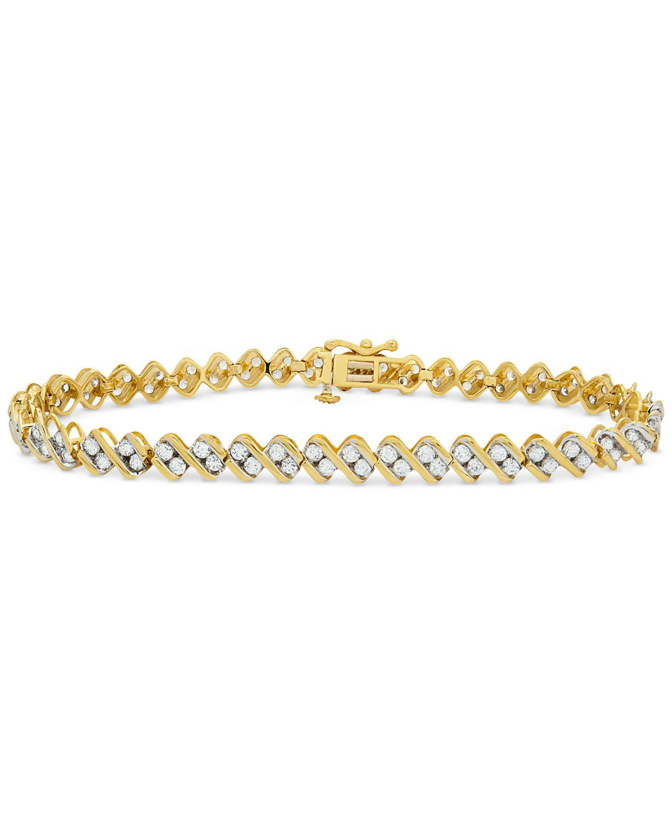 bracelet jewelry beach gold fine carat set yellow bracelets chain carats women for pin gift anklet ankle ice