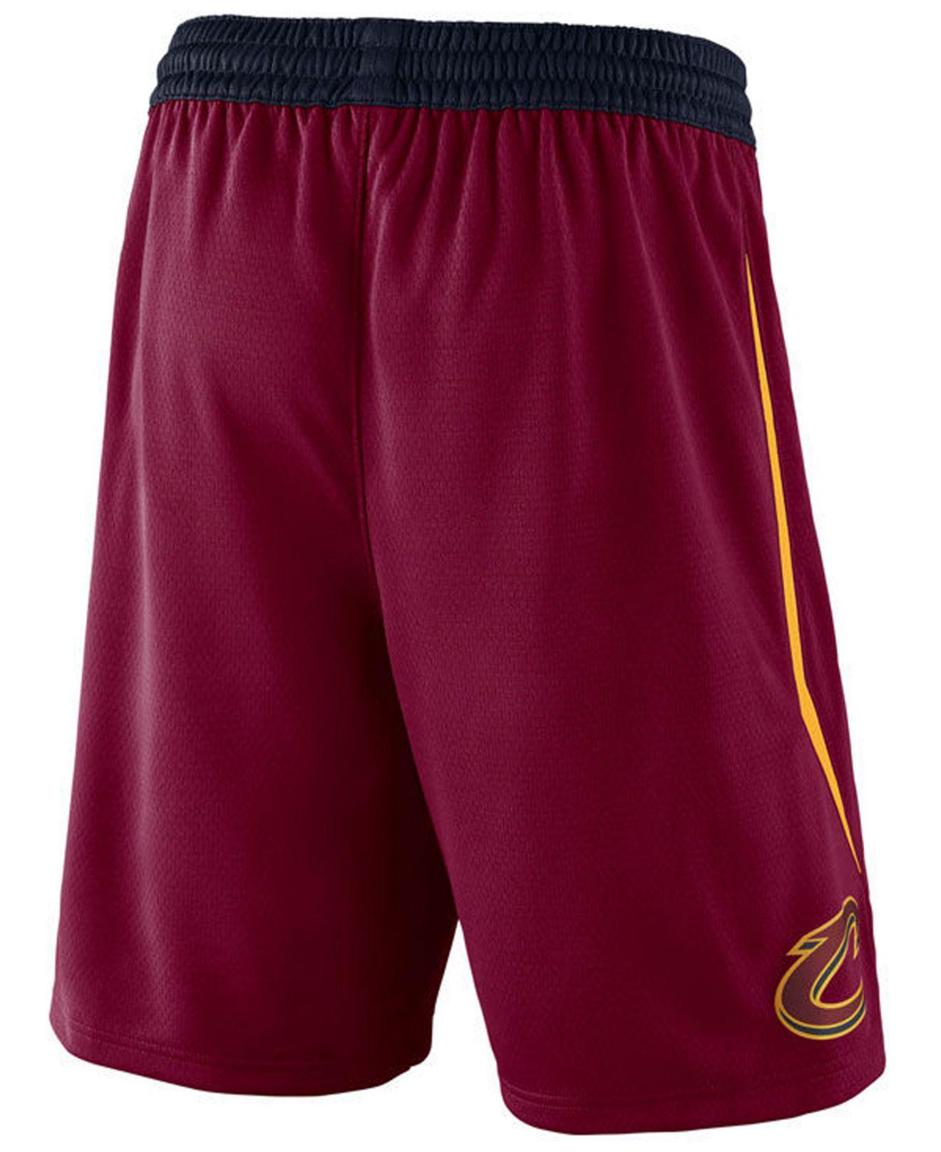 c0de0825aadf Lyst - Nike Icon Swingman Shorts in Red for Men