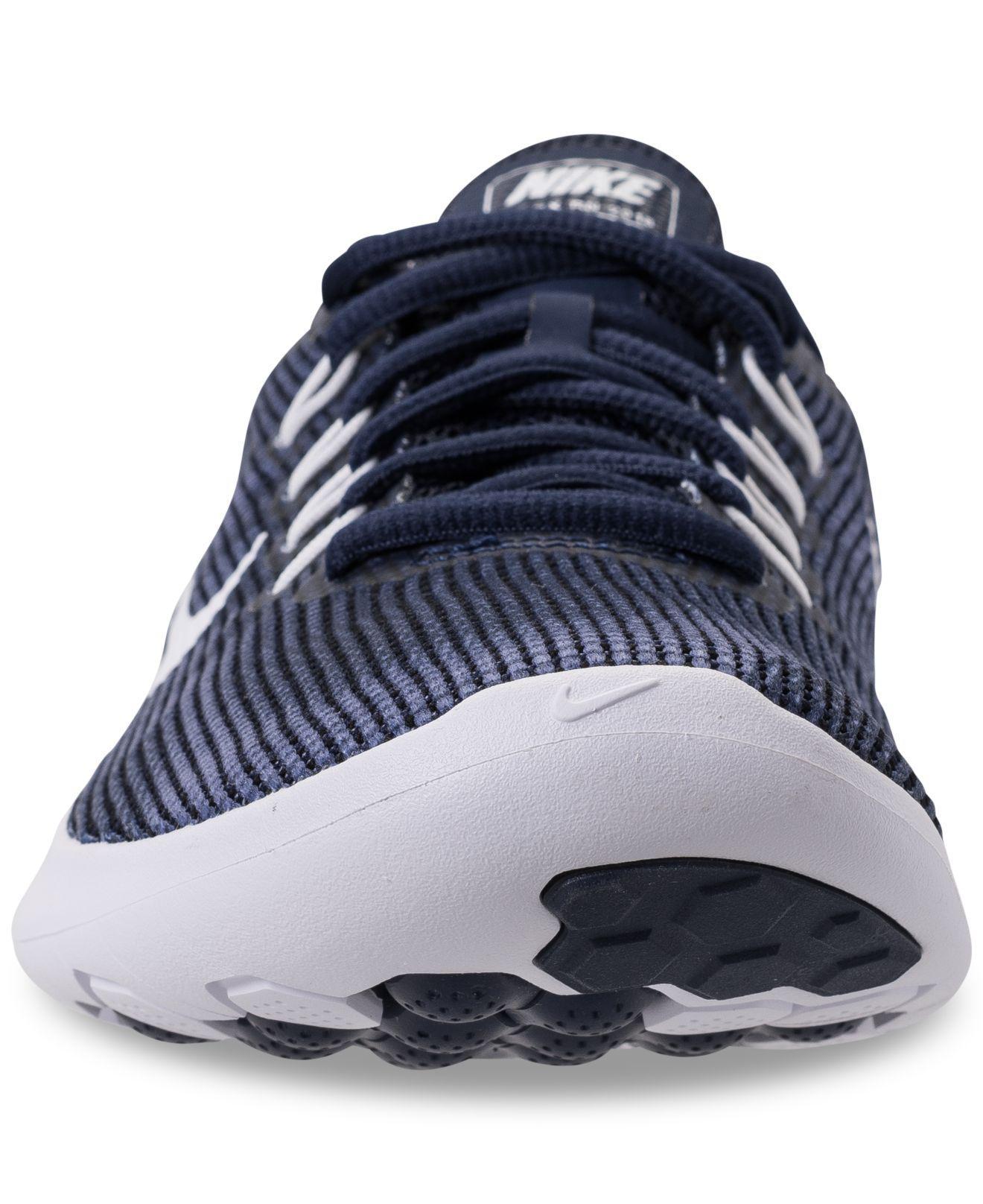best service 57665 231e6 Nike - Blue Flex Run 2018 Running Sneakers From Finish Line for Men - Lyst.  View fullscreen