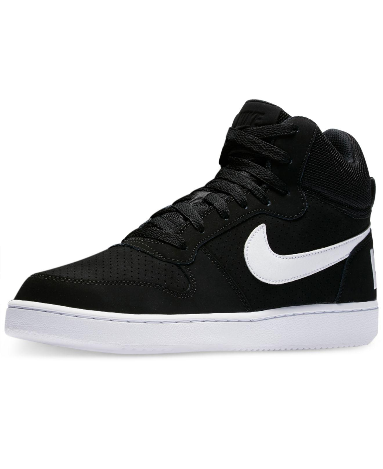 Nike - Black Recreation Mid Casual Sneakers From Finish Line for Men - Lyst.  View Fullscreen