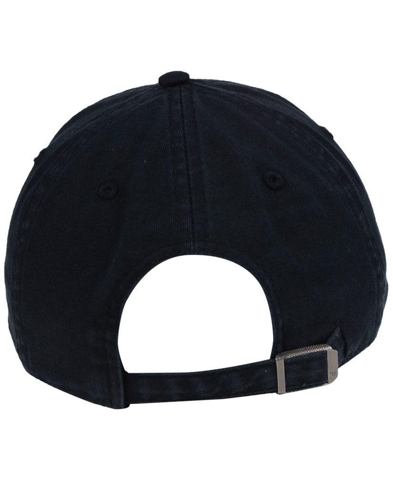 9b0b4d09885 ... france 47 brand black boston red sox hardware clean up cap for men  lyst. view