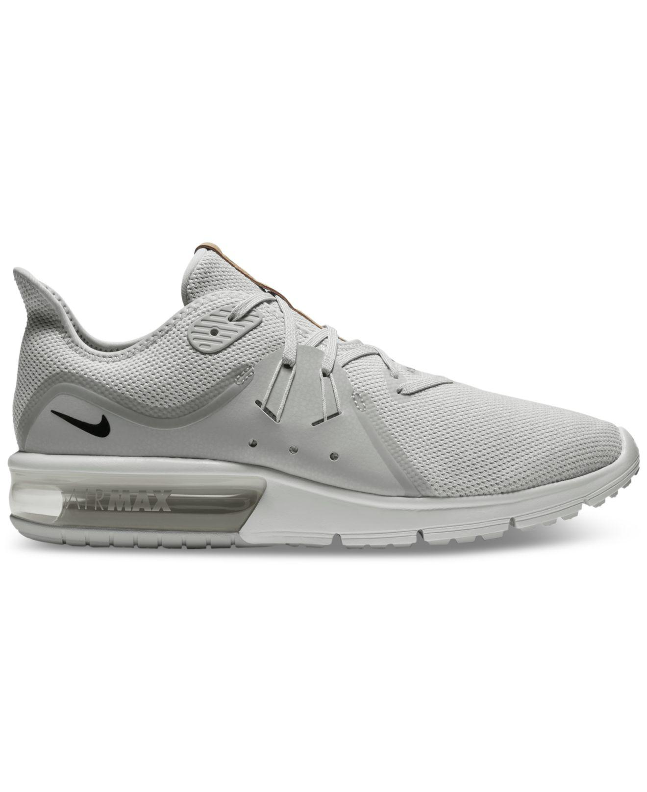Lyst - Nike Men s Air Max Sequent 3 Running Sneakers From Finish ... 610264a1972e