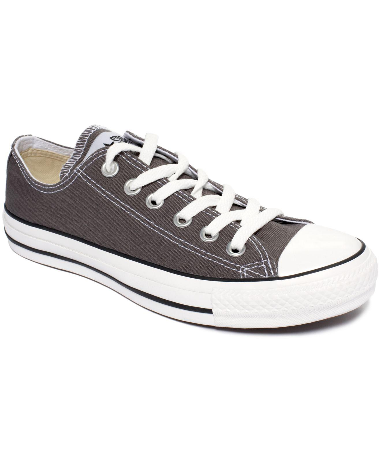 030107571a590b Converse. Gray Women s Chuck Taylor All Star Oxford Sneakers From Finish  Line