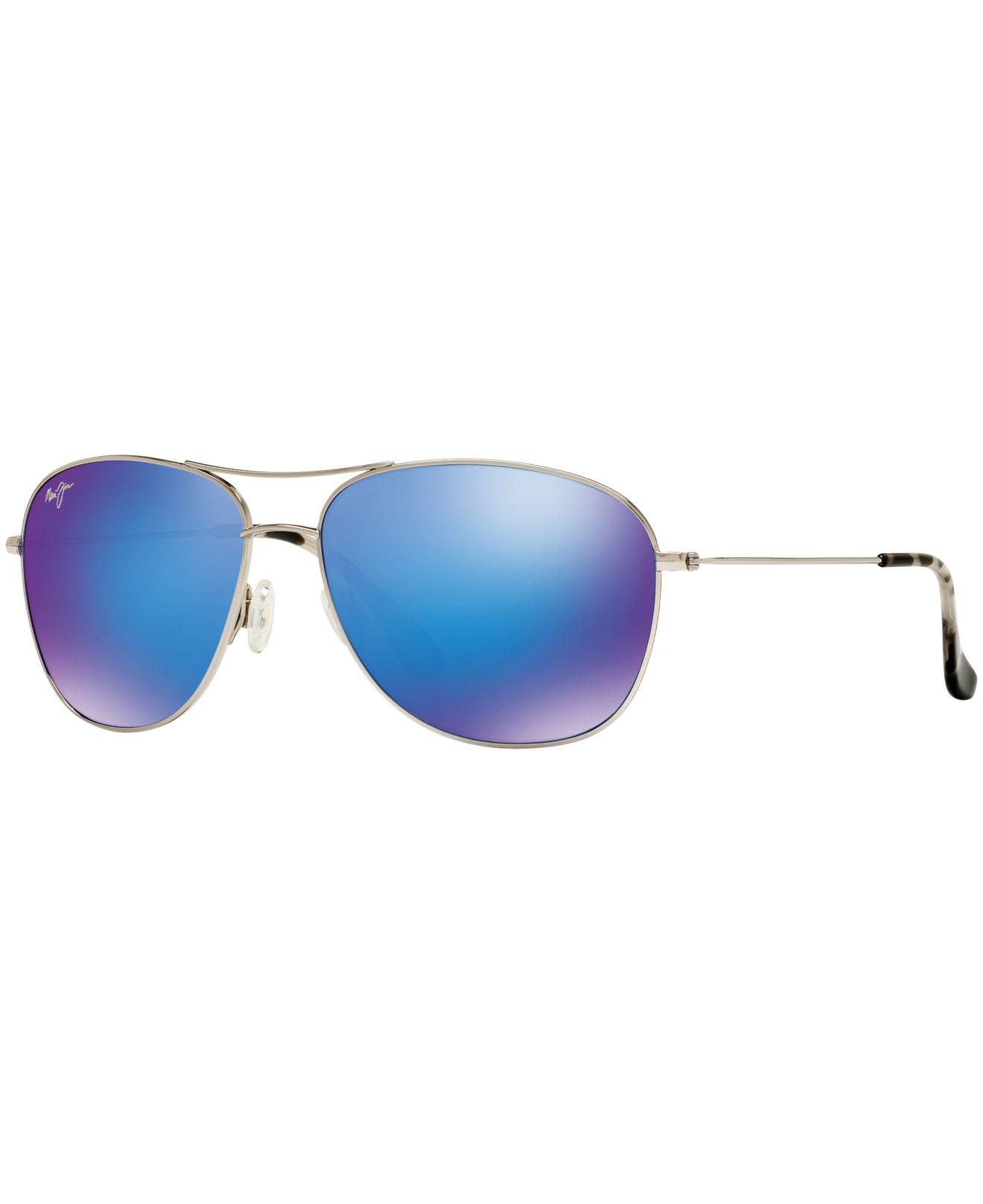 Lyst - Maui Jim 247 Cliffhouse in Metallic 999e24283ae2