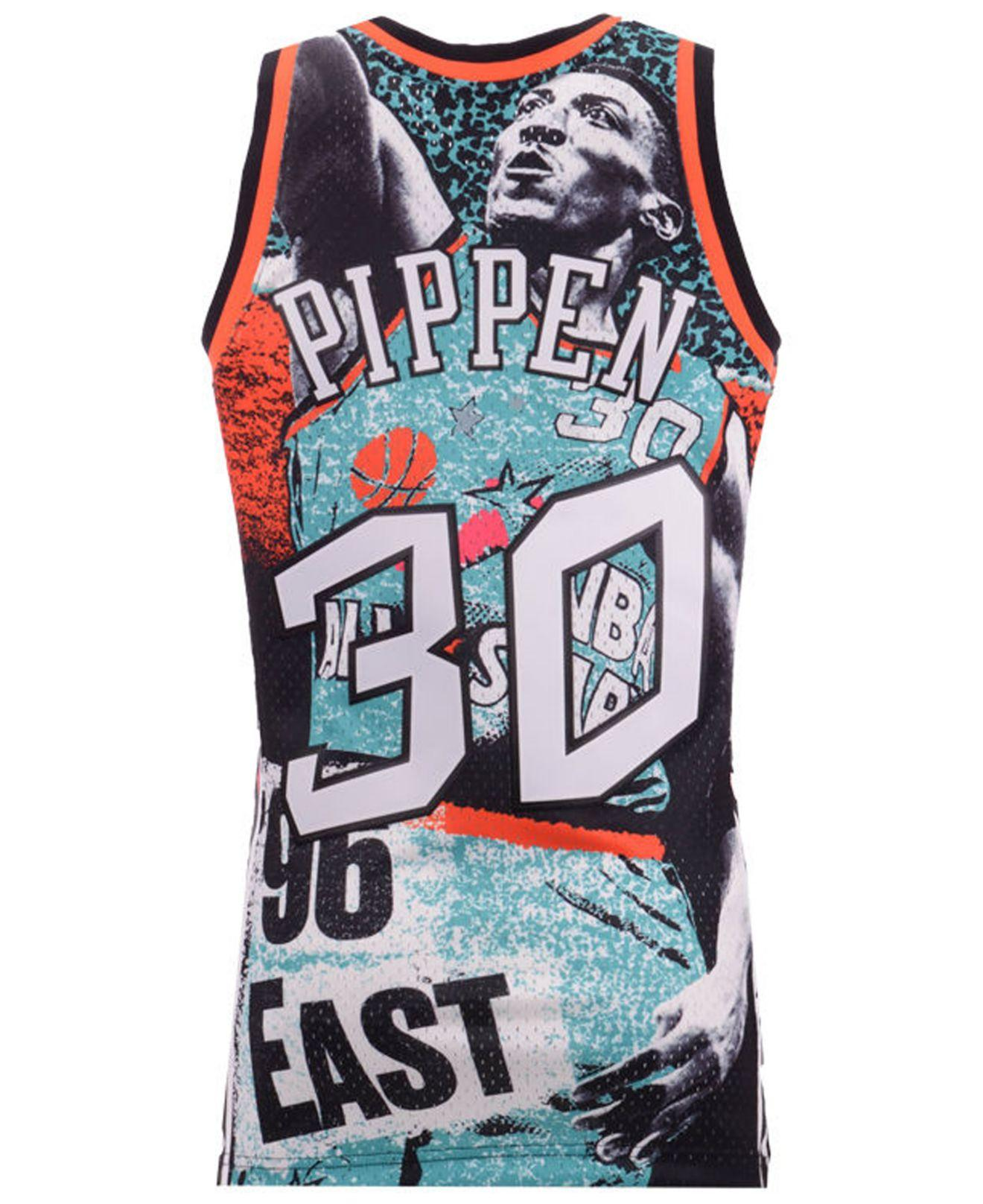 Lyst - Mitchell   Ness Scottie Pippen Nba Fashion All Star Swingman Jersey  in Black for Men 6efd9be70