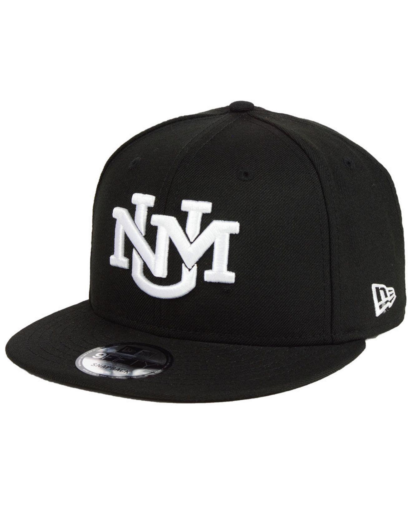 ae51312f25c Lyst - KTZ New Mexico Lobos Black White Fashion 9fifty Snapback Cap ...
