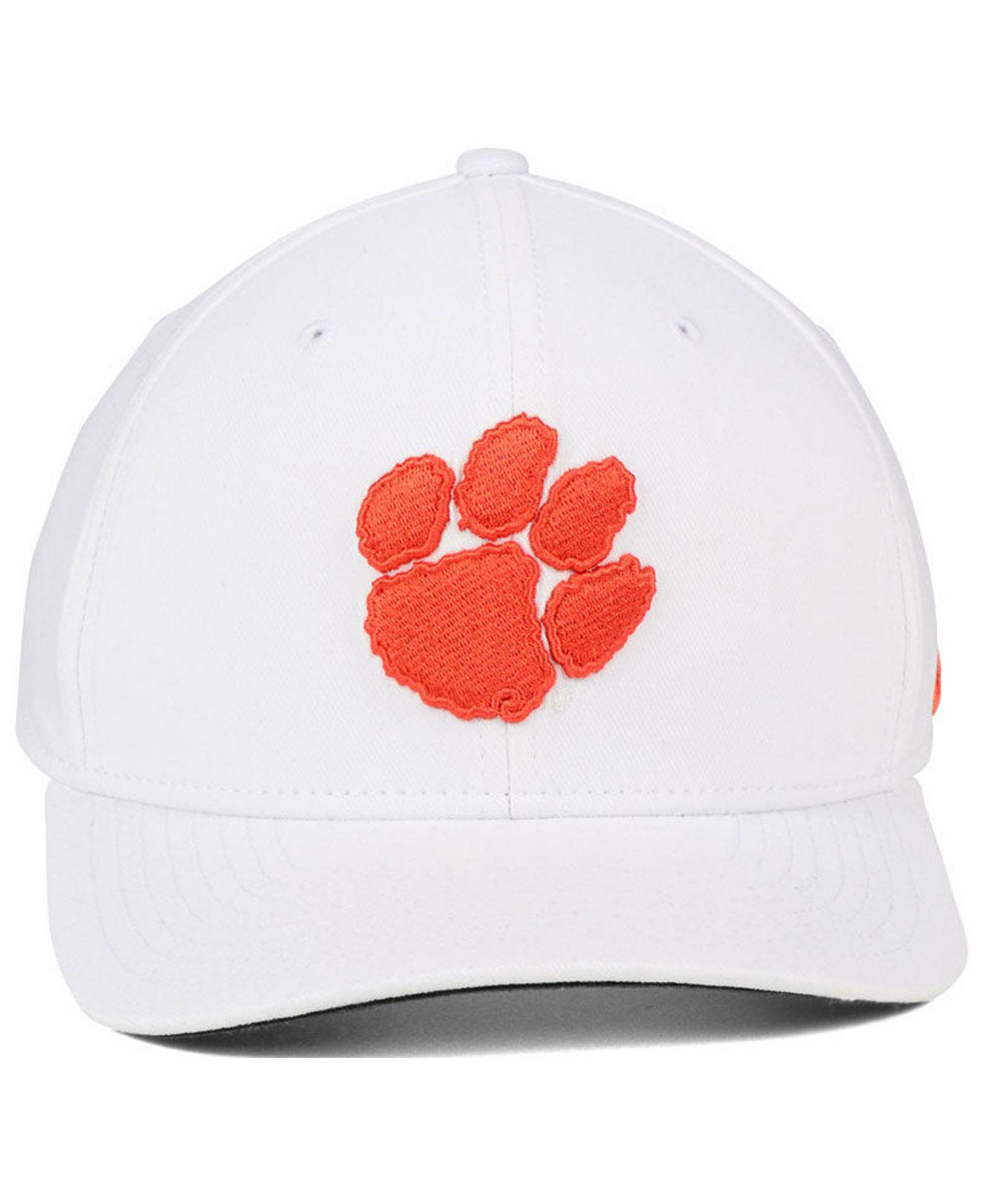 save off 62421 ff638 Nike Clemson Tigers Classic Swoosh Cap in White for Men - Lyst