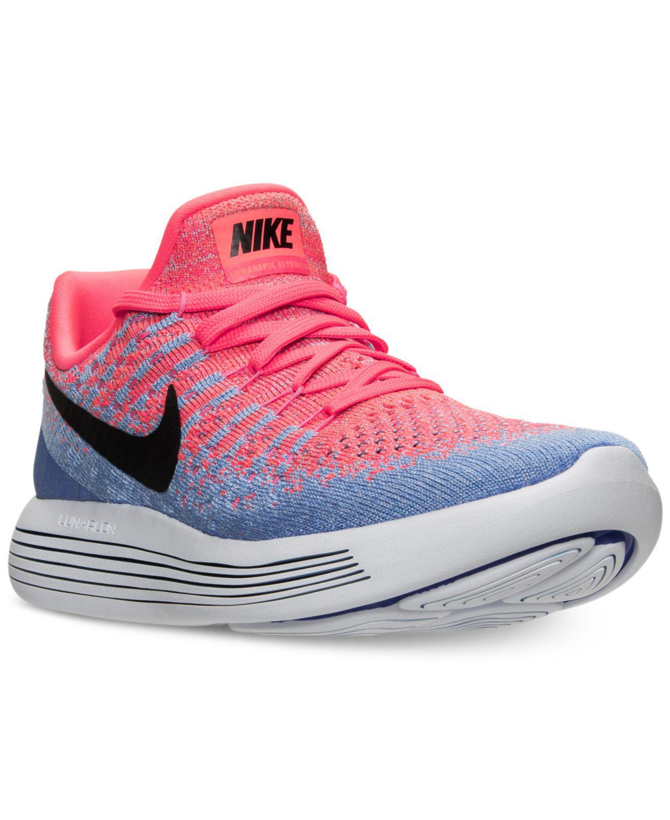 new arrival a1197 f6061 Lyst - Nike Women's Lunarepic Low Flyknit 2 Running Sneakers ...