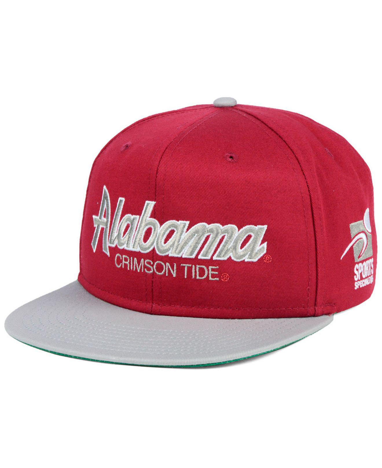 ee6ee25d0f7 Lyst - Nike Alabama Crimson Tide Sport Specialties Snapback Cap in ...