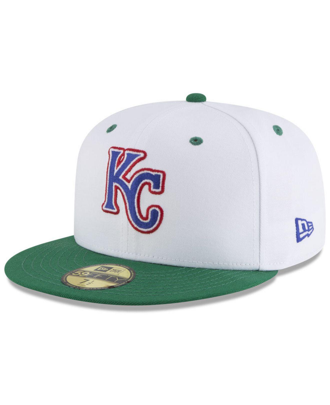 info for 5052a 56500 ... australia kansas city royals retro diamond 59fifty fitted cap for men  lyst. view fullscreen 381e2