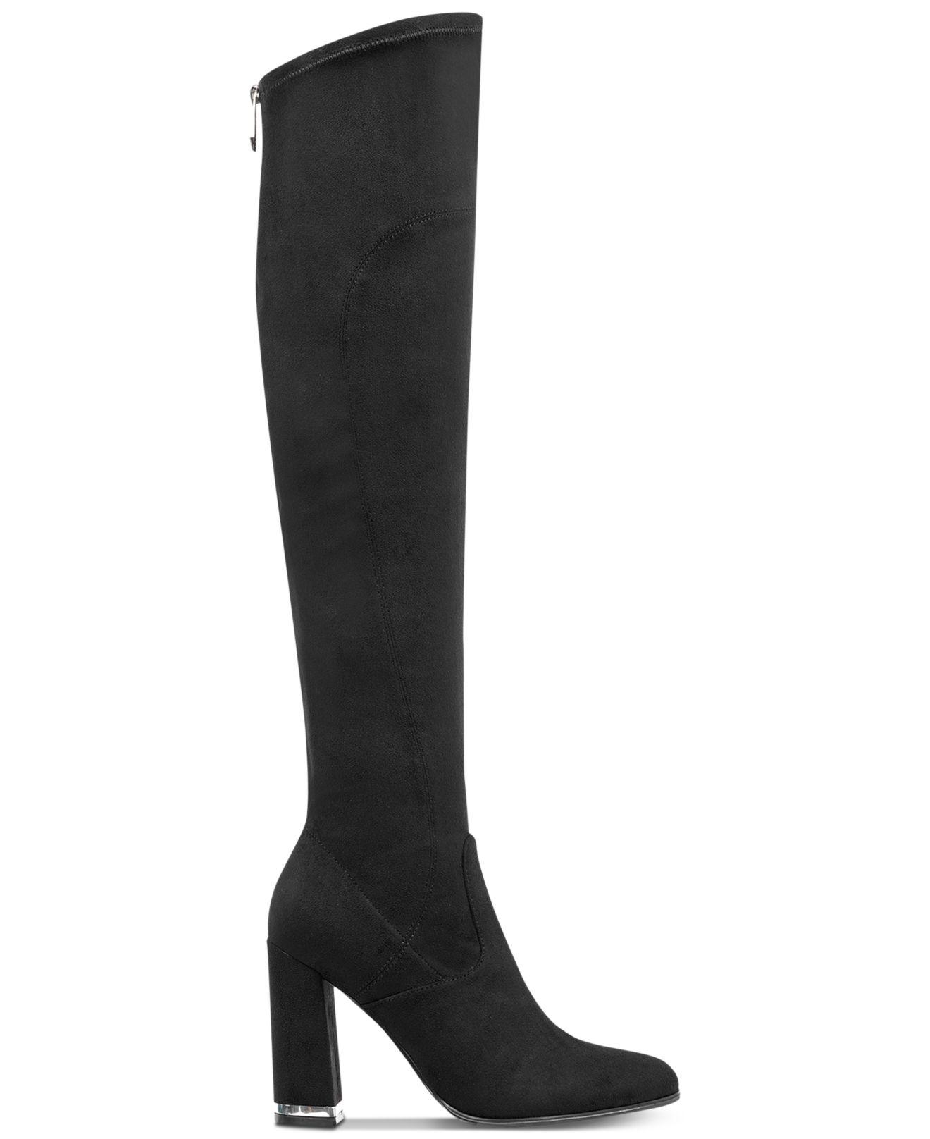 fef3be69b8b Lyst - Marc Fisher Natier Over-the-knee Boots in Black