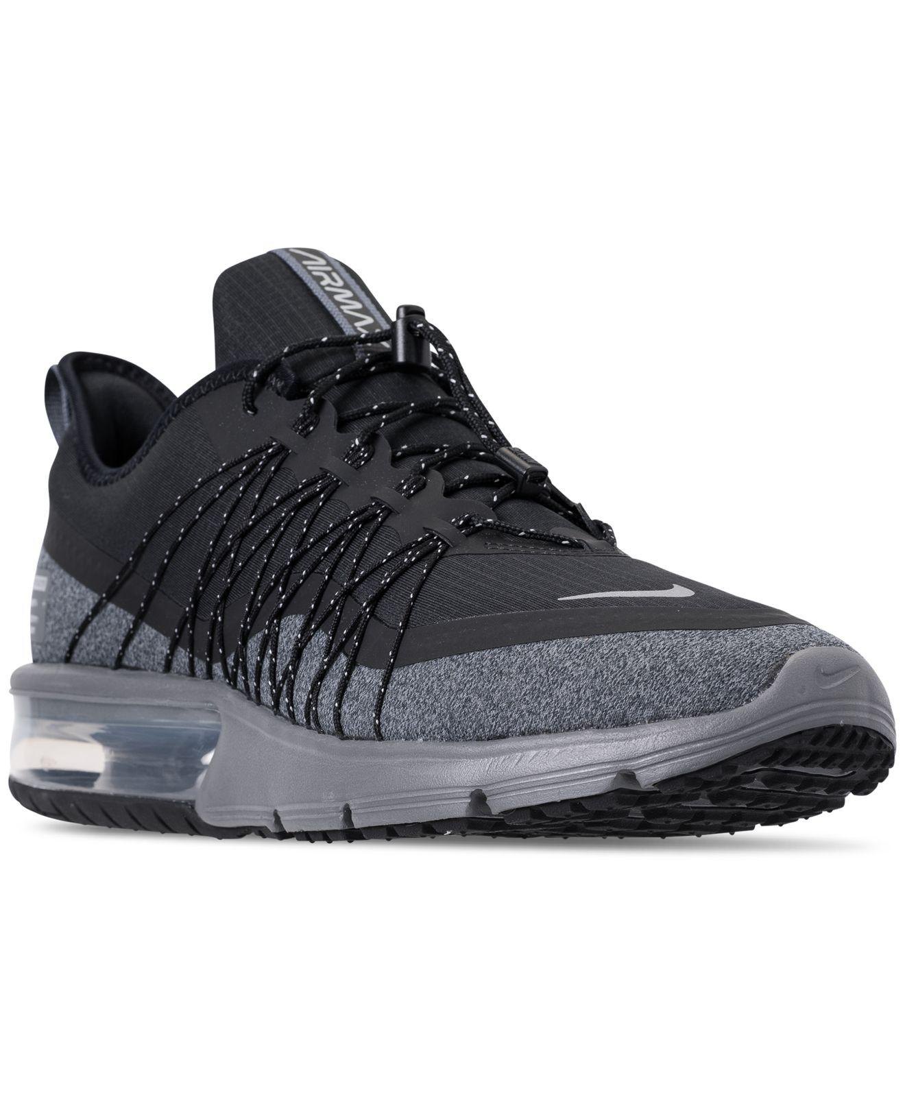 low priced 0f0ca 9b0c1 Nike Air Max Sequent 4 Shield Running Sneakers From Finish Line in ...