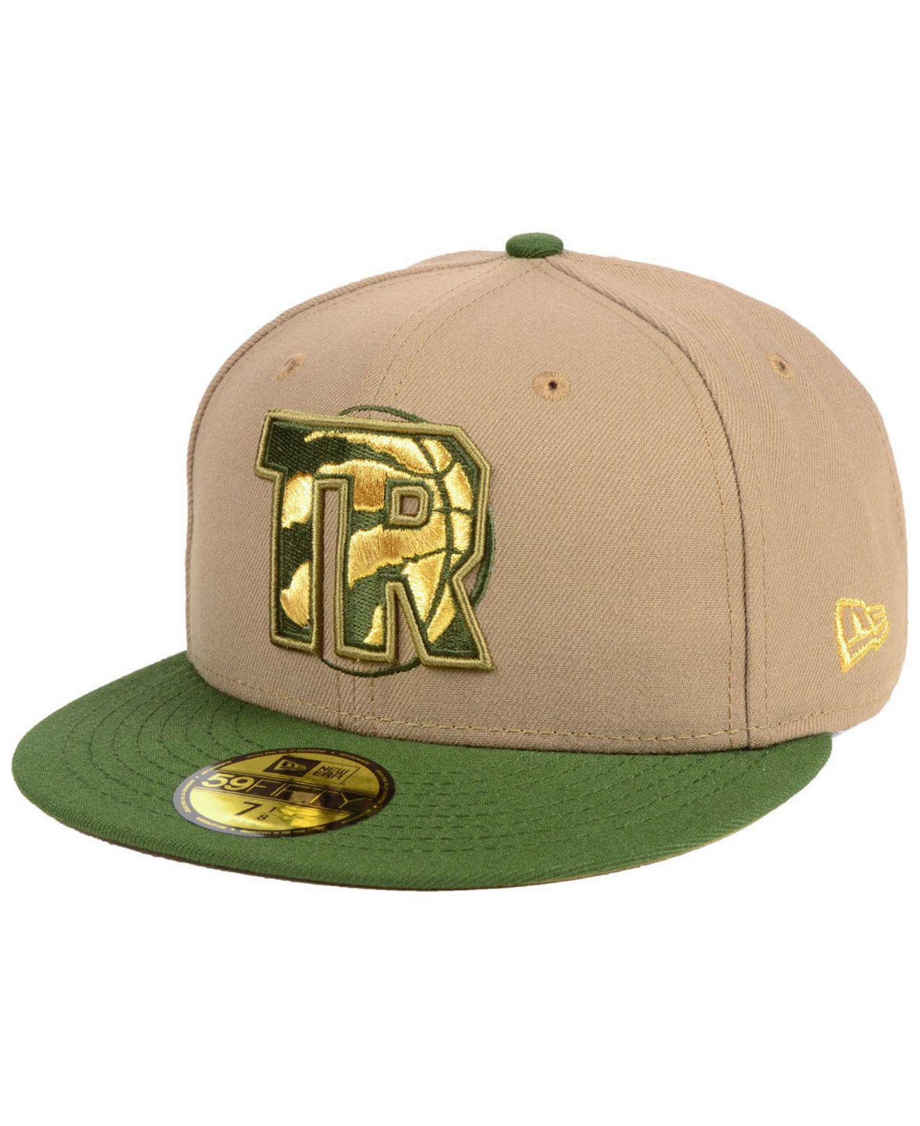 timeless design 6b617 b84ba ... purchase ktz. mens green toronto raptors fall 2 tone combo 59fifty  fitted cap 9e5ac 4146f