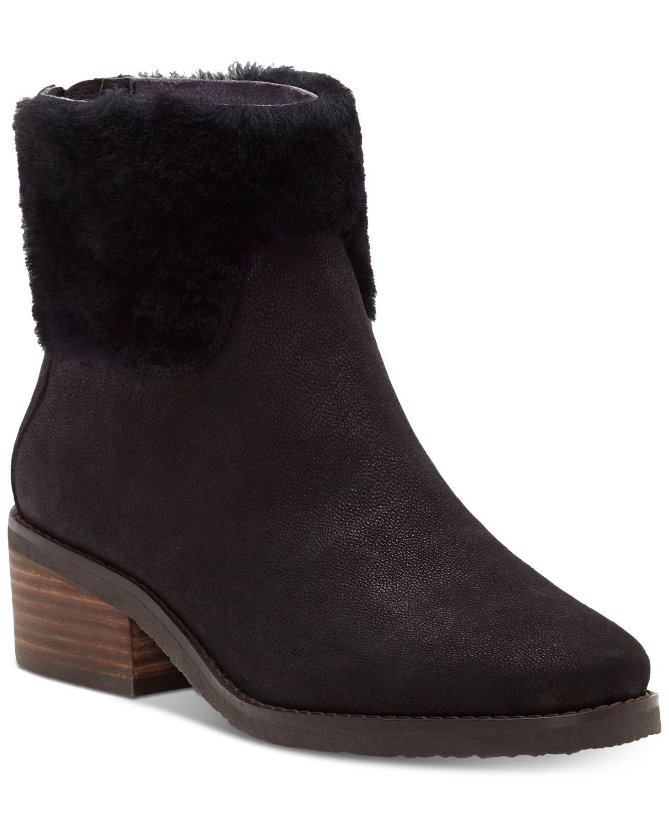 e69a05cde7c Lyst - Lucky Brand Tarina Boots in Black