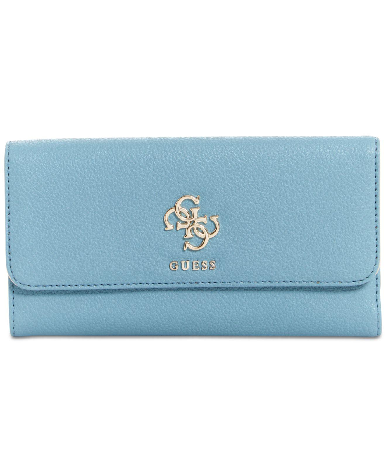 4db40a56f943 Guess Blue Wallet - Best Photo Wallet Justiceforkenny.Org