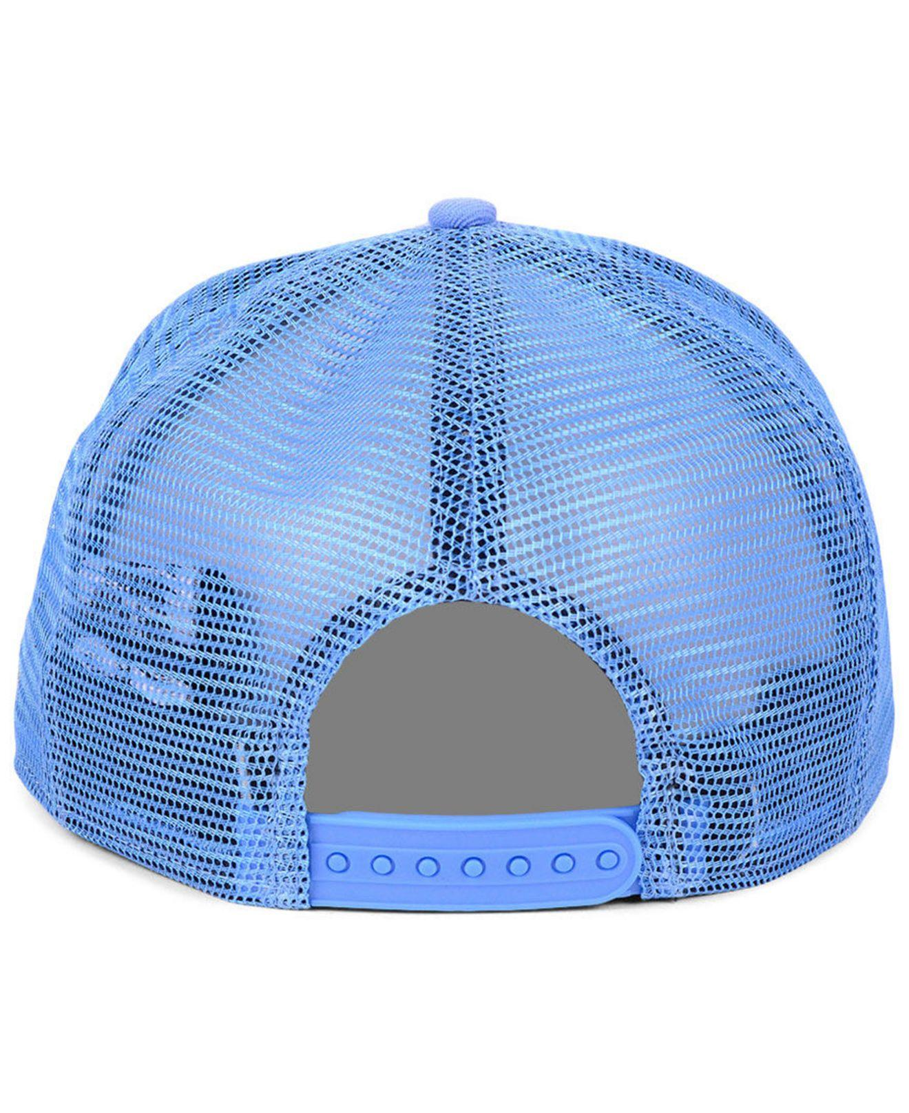 buy online f693e 369f6 KTZ - Blue Los Angeles Angels Timeline Collection 9fifty Cap for Men - Lyst.  View fullscreen