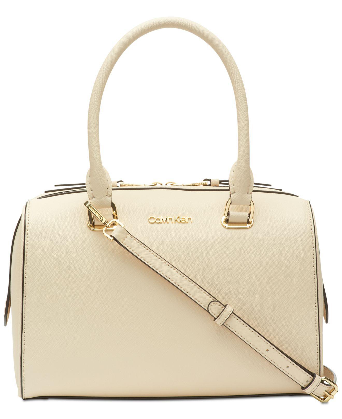 Calvin Klein. Women s Mercy Leather Satchel 1b9921461f36b