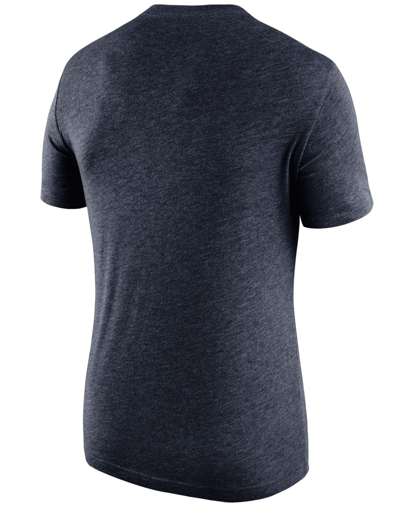 official photos 478ae 4ff8c Lyst - Nike Men s Chicago Bears Historic Logo T-shirt in Blue for Men