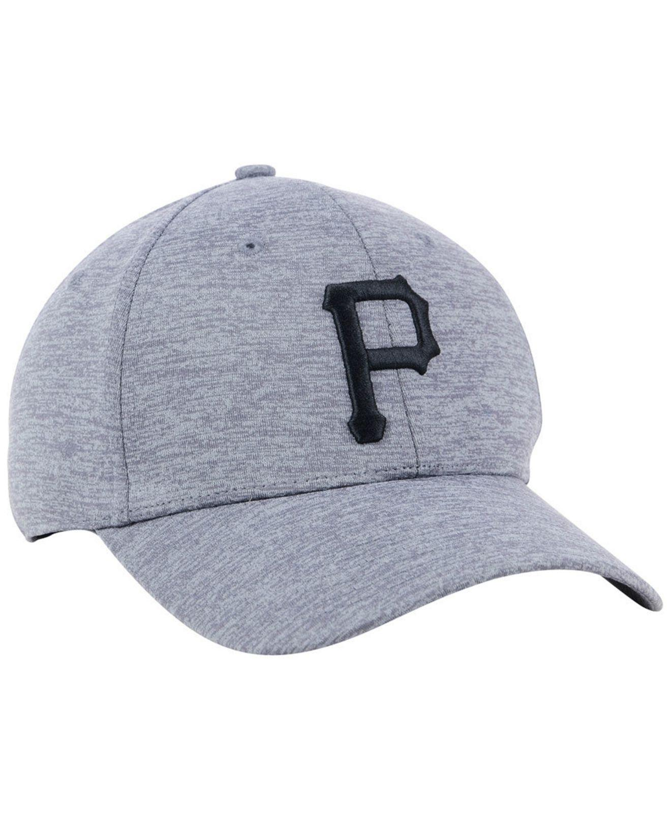 3c8218d6dc5 ... best under armour gray pittsburgh pirates twist closer cap for men  lyst. view fullscreen 4f45c
