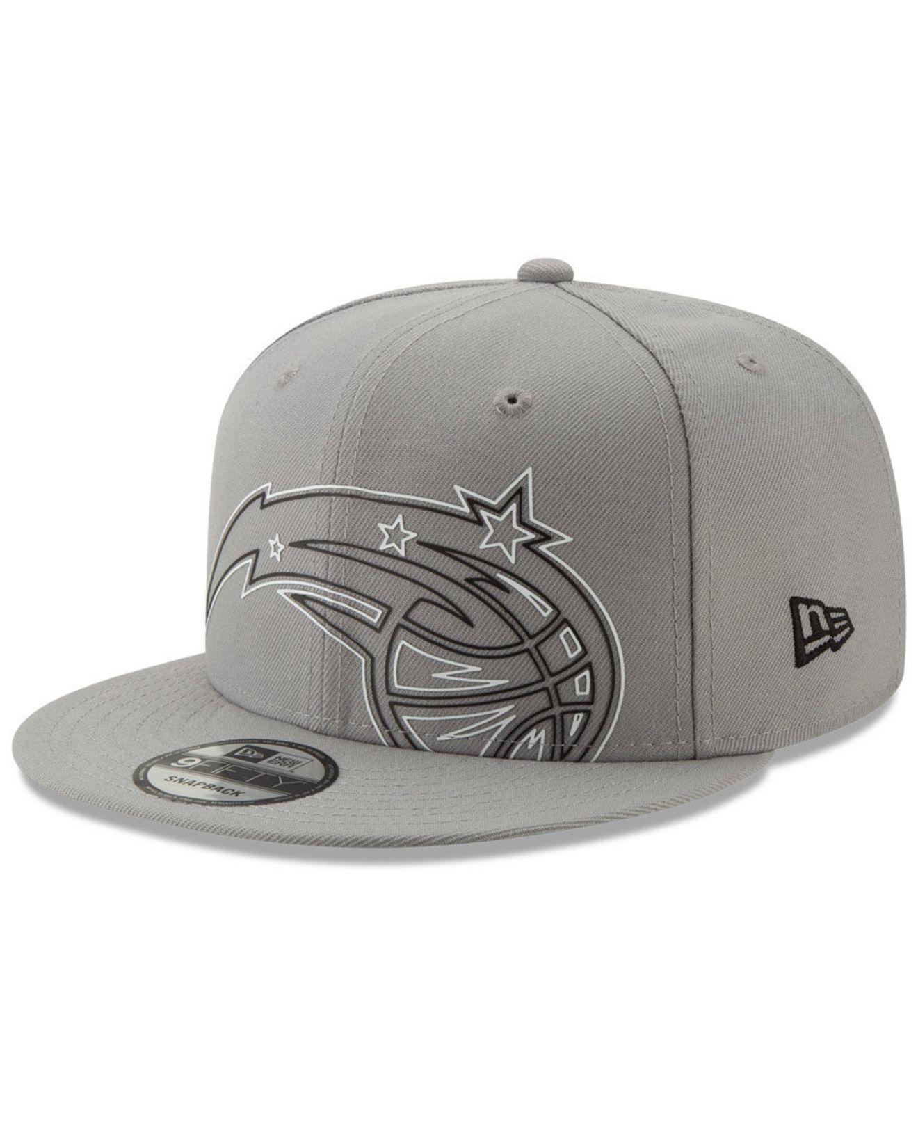 quality design e91a3 76385 KTZ. Men s Orlando Magic Light It Up Gray 9fifty Snapback Cap