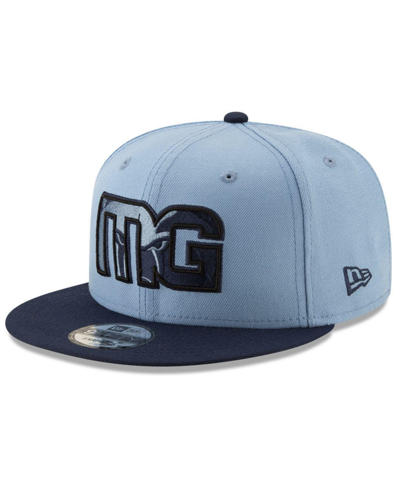 official photos f133a 55451 KTZ. Men s Blue Memphis Grizzlies Light City Combo 9fifty Snapback Cap