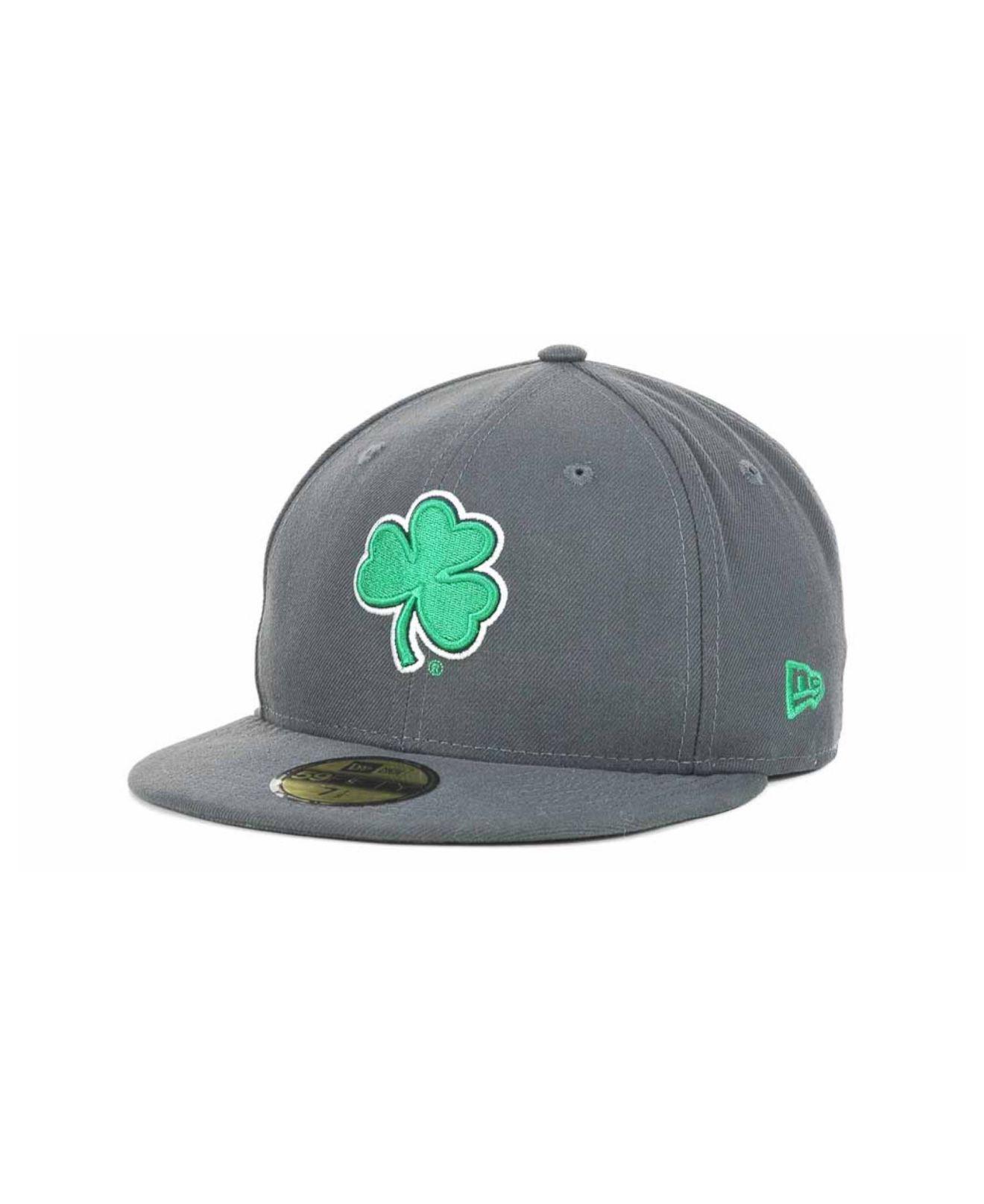sale retailer 3c757 6268a Lyst - KTZ Notre Dame Fighting Irish Ncaa Ac 59fifty Cap in Gray for Men