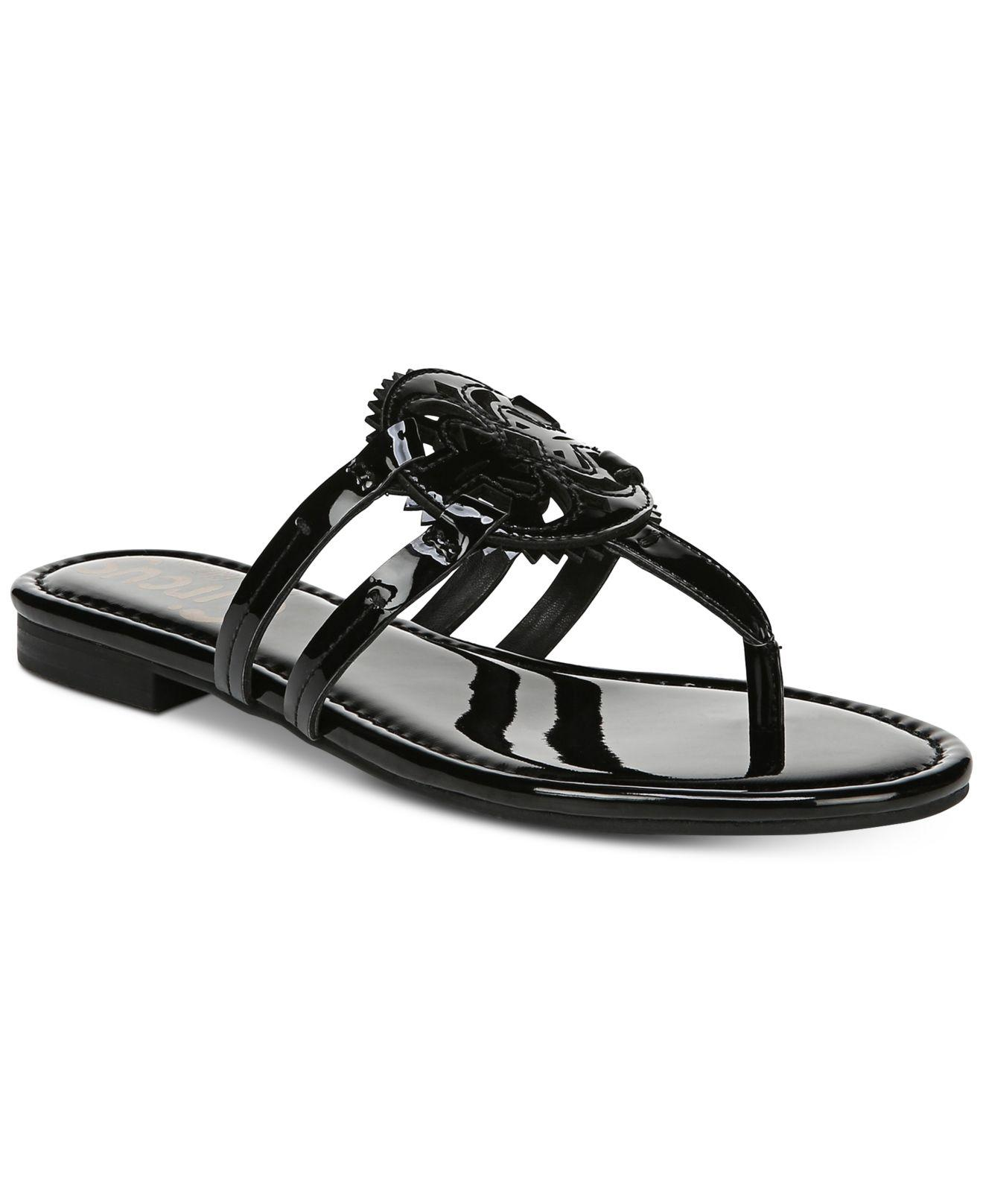 d3f039ab4 Lyst - Circus by Sam Edelman Canyon Medallion Flat Sandals in Black