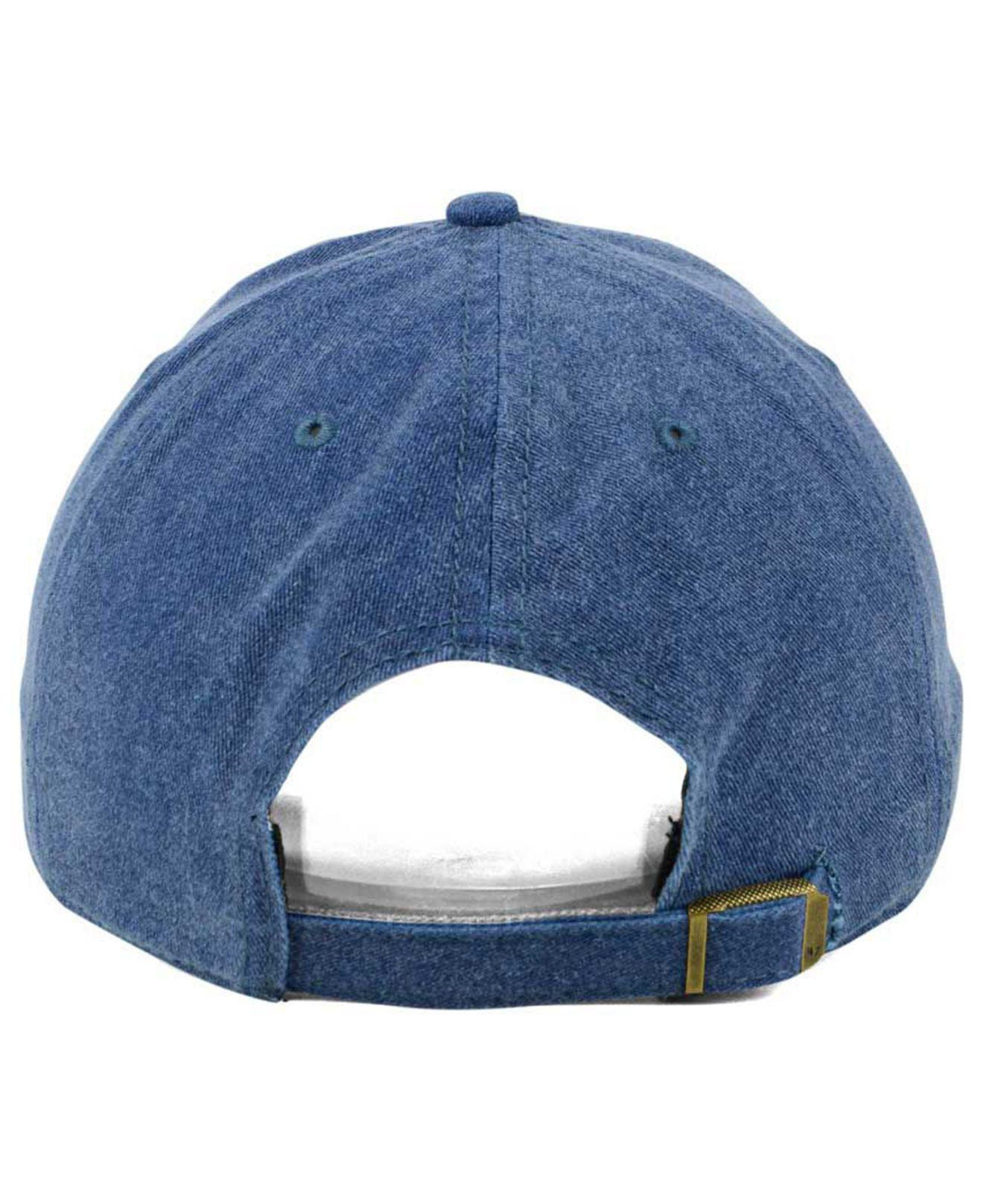 new product 2dd6f bde22 ... sweden 47 brand blue summerland clean up cap for men lyst. view  fullscreen 261ac 8fb42