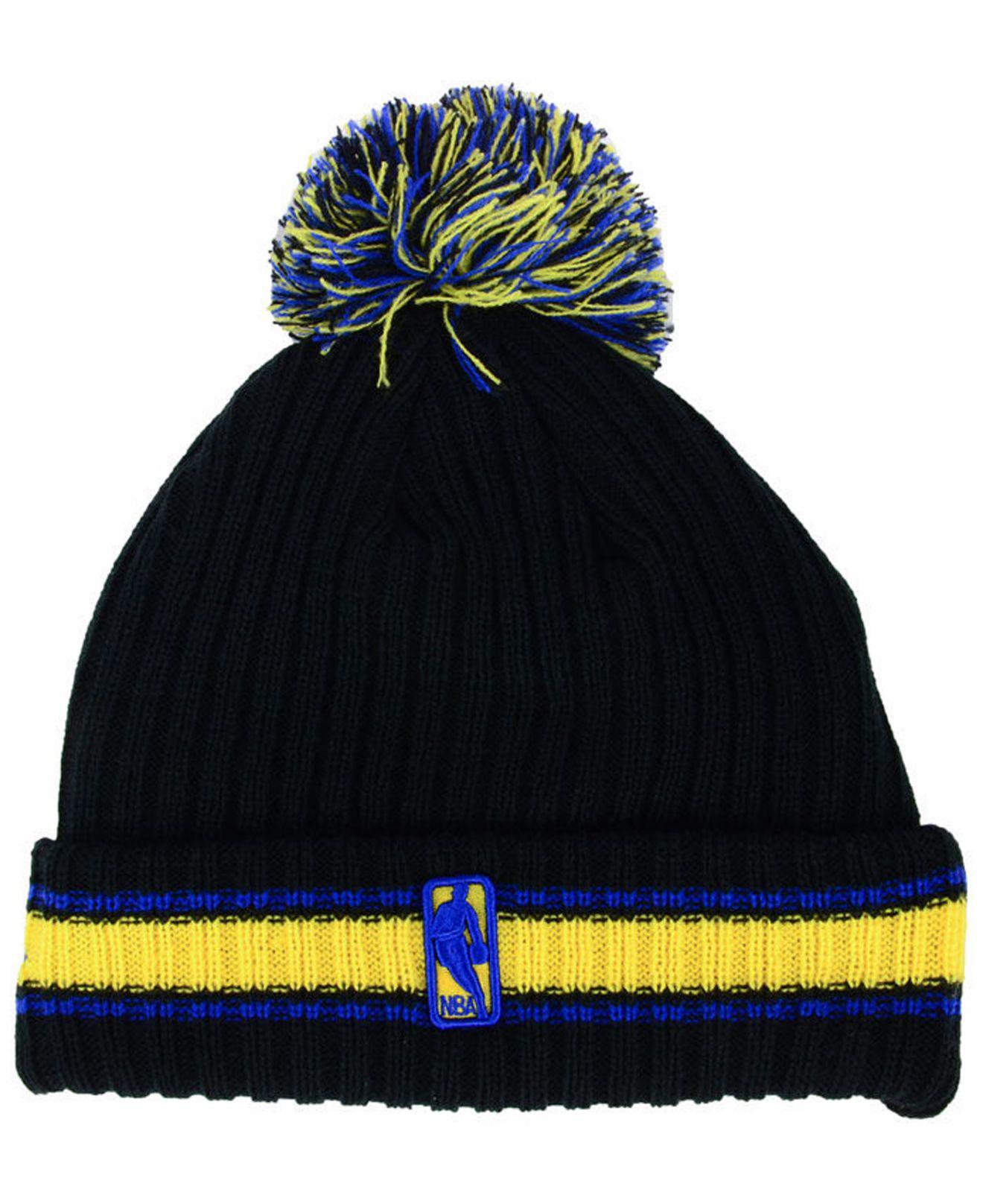 wholesale dealer f49ea d3ad6 spain cleveland cavaliers new era nba basic link 9fifty snapback cap c7f16  d7b9b  sale lyst ktz basic chunky pom knit hat in black for men 7dd1b 35d0d