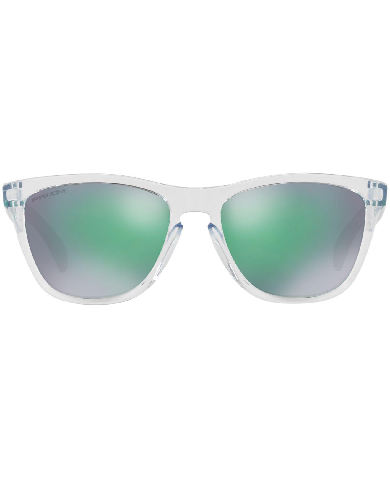 bd17fec43a2 Lyst - Oakley Frogskins Prizm Sunglasses in Green for Men