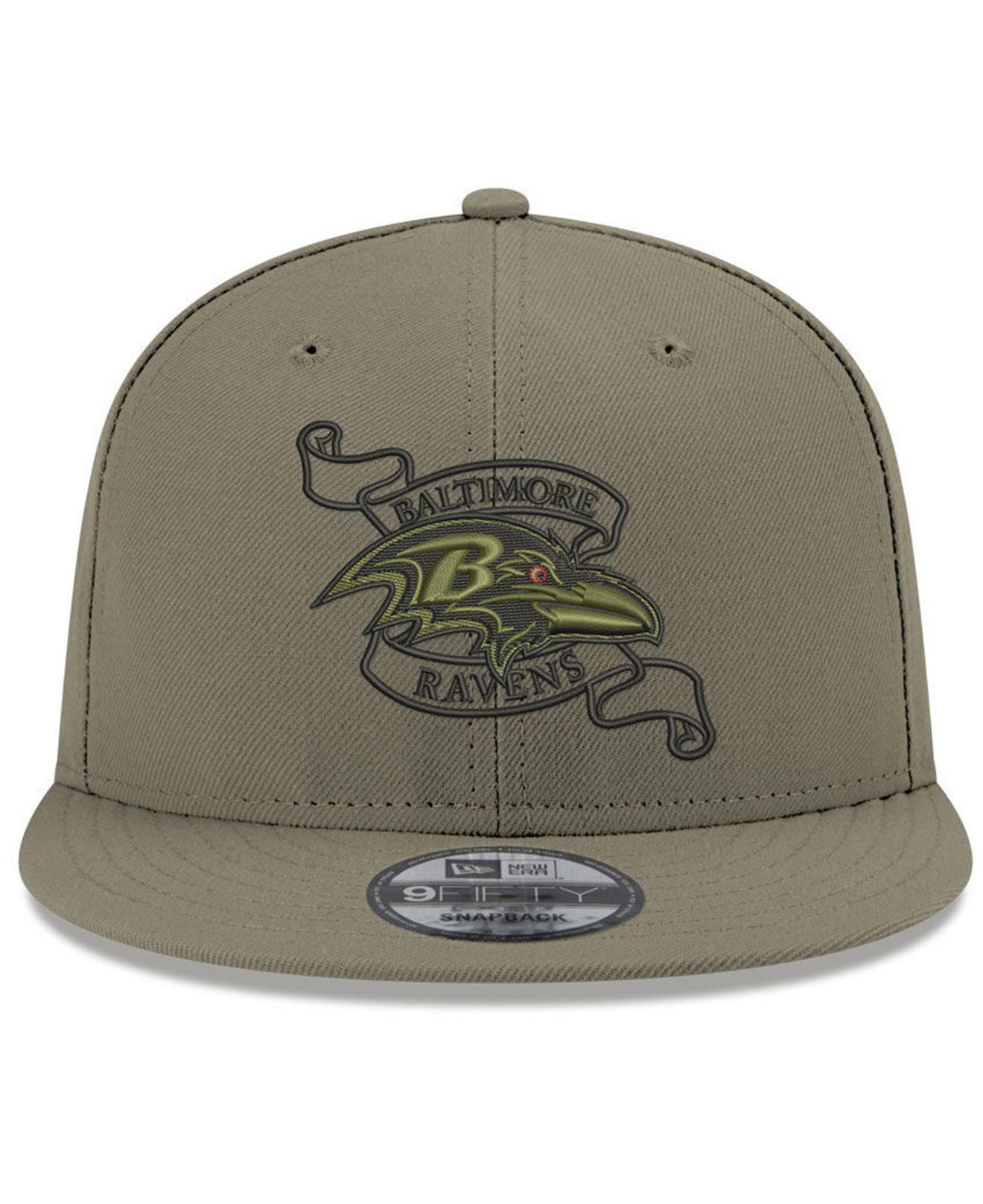 ... Men  low cost 53784 93ada Lyst - Ktz Baltimore Ravens Crafted In The  Usa 9fifty Snapback Cap ... ddcff08ff