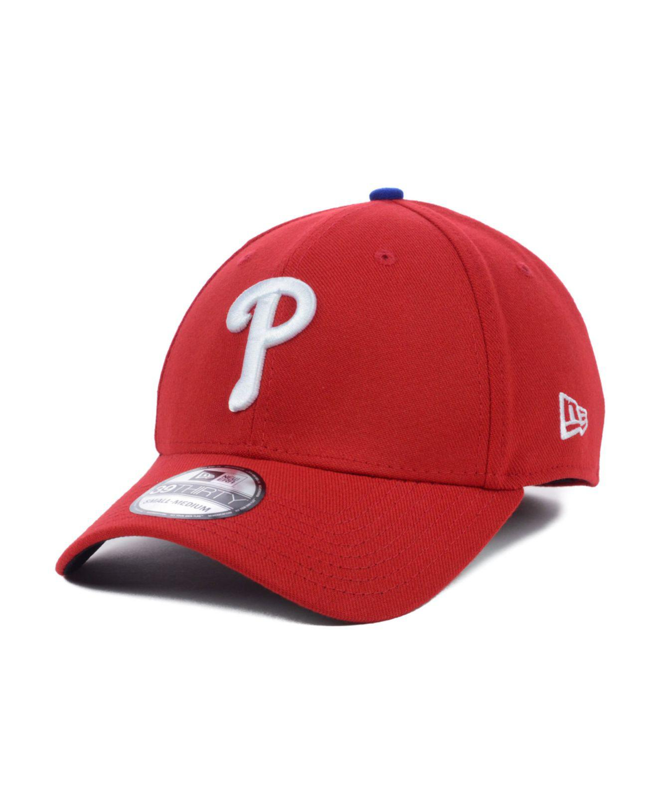 cb46f73497e Lyst - KTZ Philadelphia Phillies Mlb Team Classic 39thirty Cap in ...