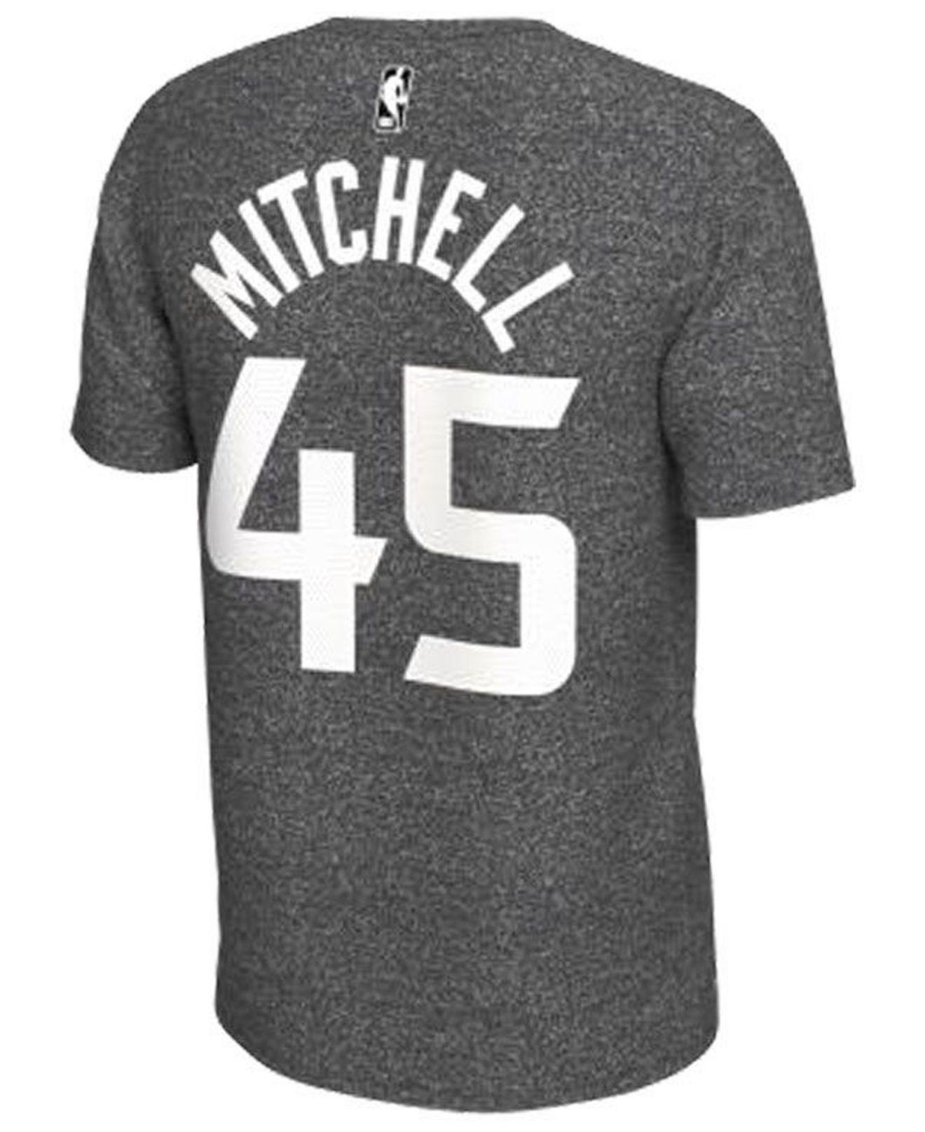 af2ae7536445 Lyst - Nike Donovan Mitchell Utah Jazz Marled Player T-shirt in Gray for Men
