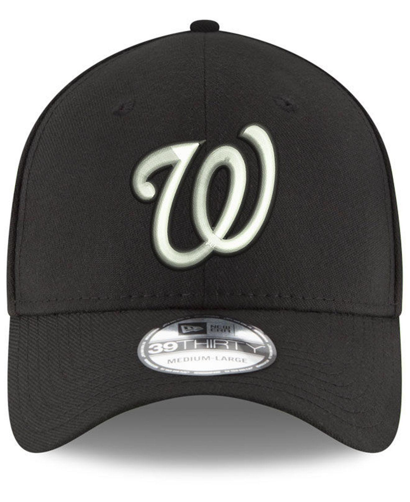 size 40 3ccb2 13229 ... usa lyst ktz washington nationals dub classic 39thirty cap in black for  men 0dad6 ed2fb