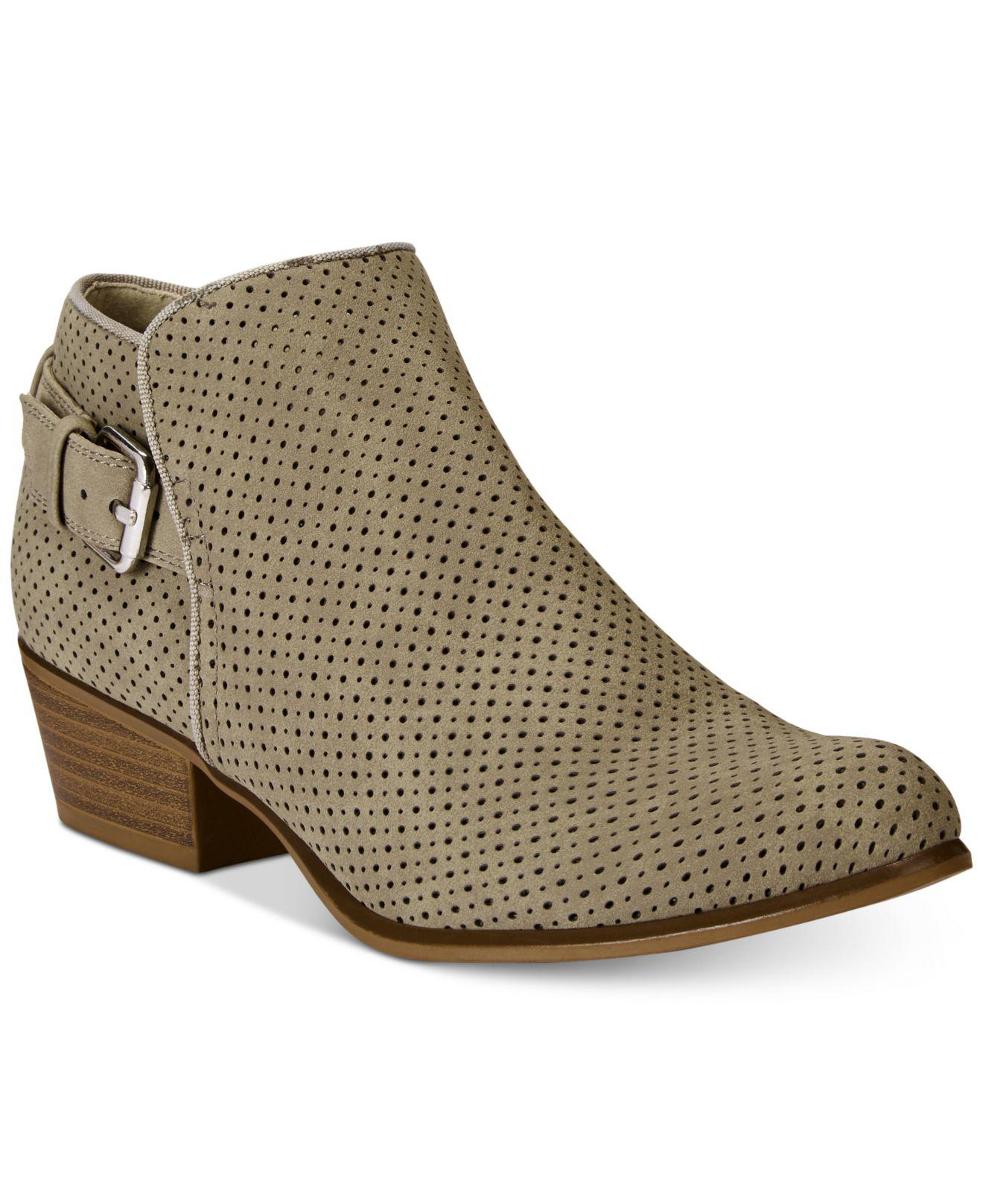 Esprit. Women's Talia Perforated Ankle Booties
