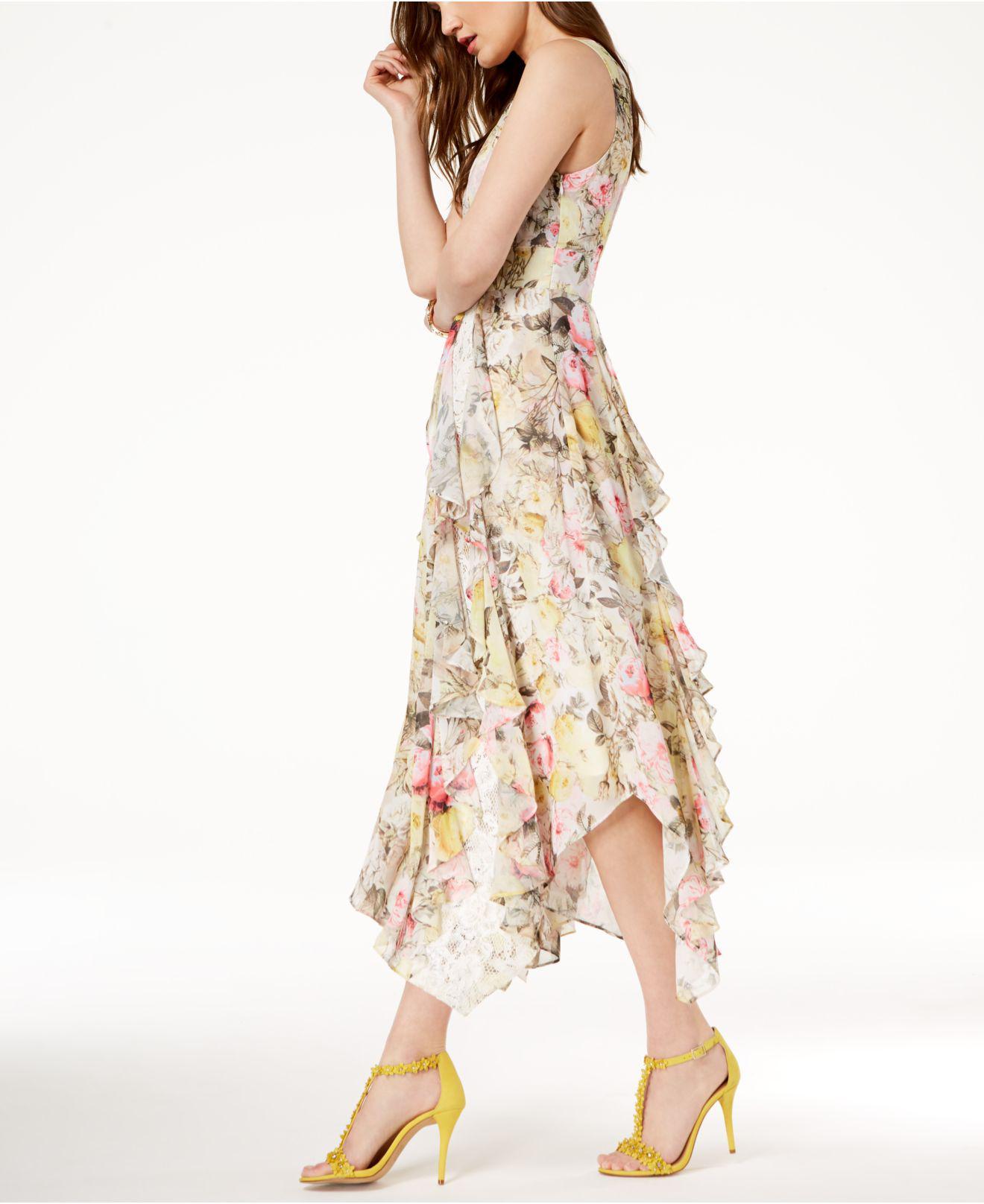 Czech Long Sleeve Floral Dress At Macy S 45eb6 2f321