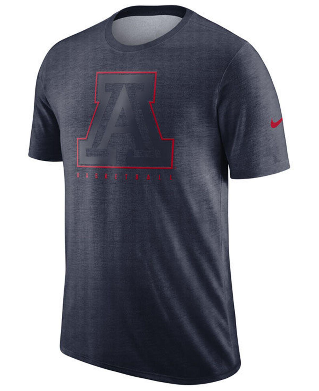 c916794e Lyst - Nike Arizona Wildcats Marled Legend Player T-shirt in Red for Men