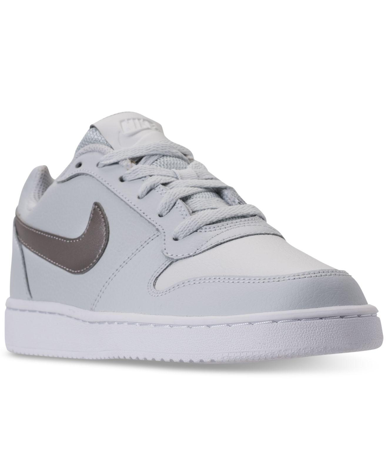 5e8d6e8e4e2 Lyst - Nike Ebernon Low-top Leather Sneaker in Gray - Save 23%