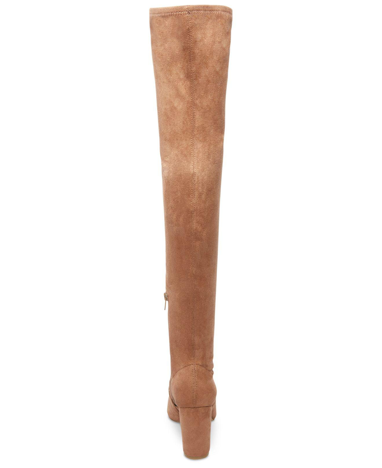facd525d8c5 Lyst - Steve Madden Rational Over-the-knee Boots in Brown