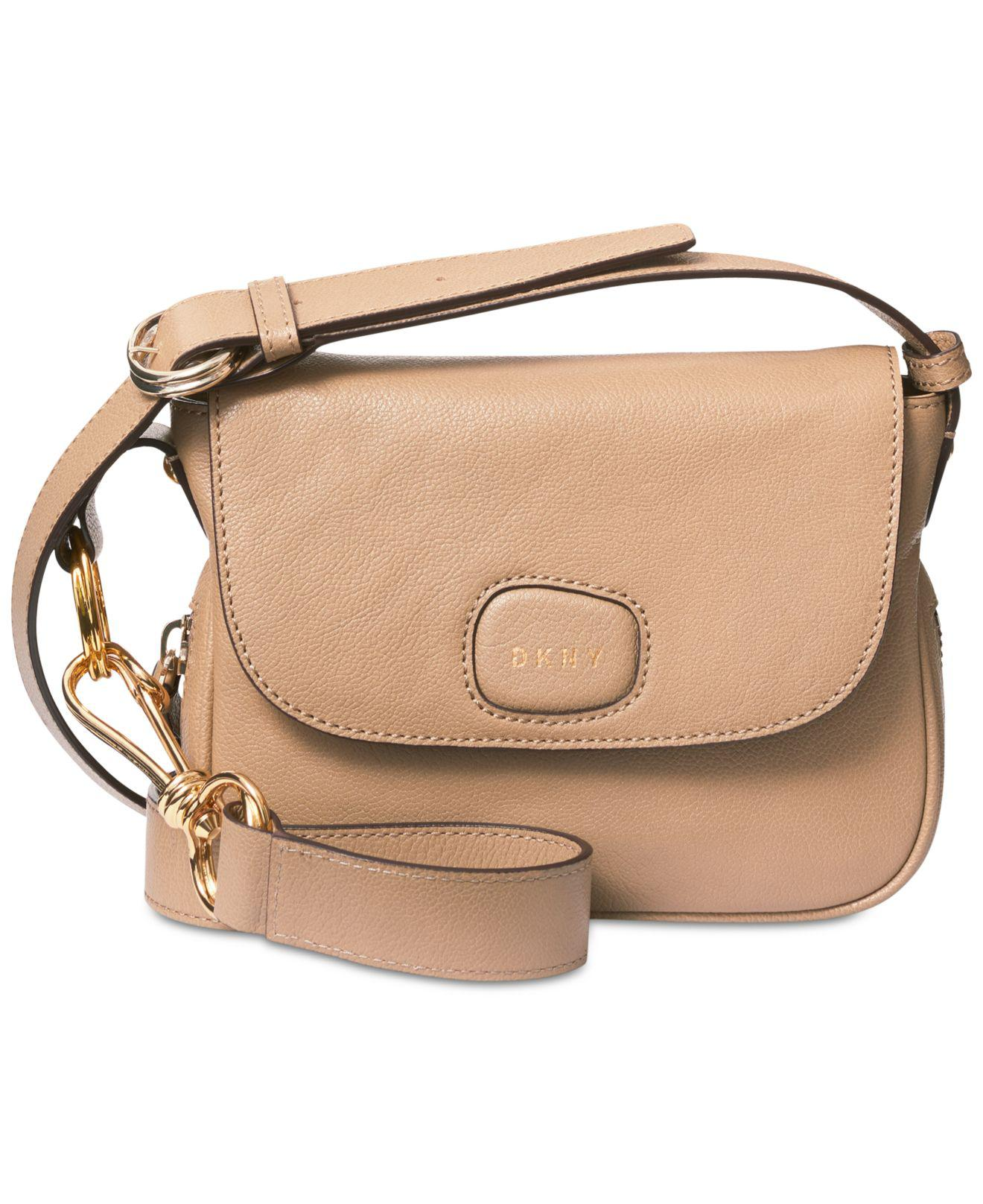 Lyst - DKNY Randall Small Flap Crossbody 8f12ef4886372