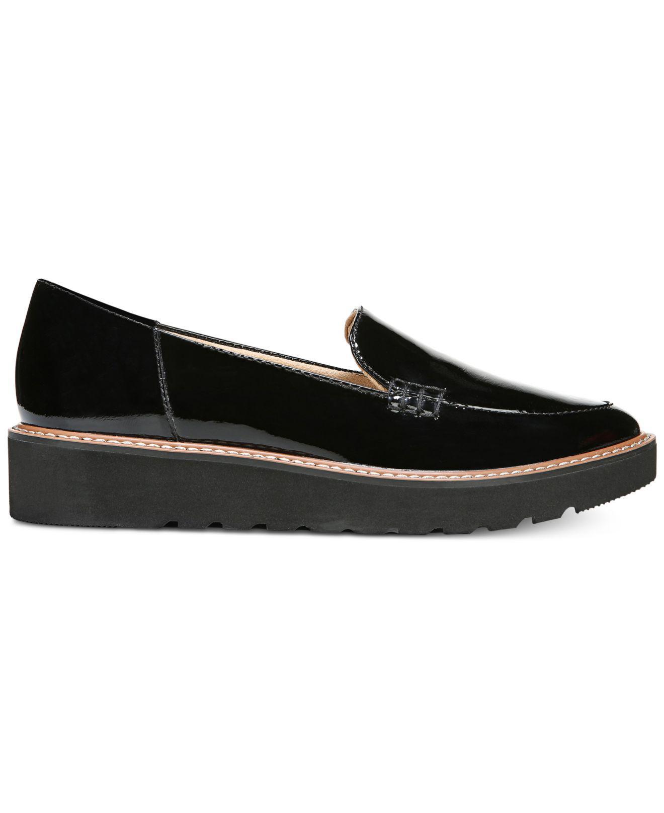 c4963316522 Naturalizer Andie Platform Loafers in Black - Lyst