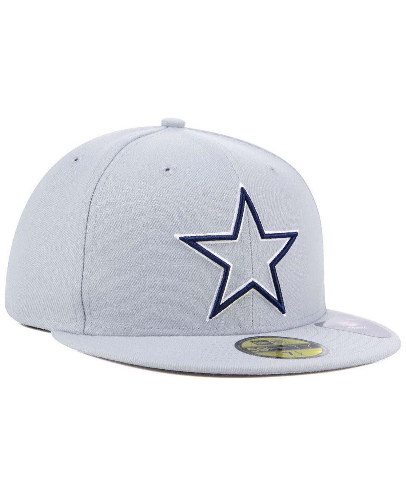 781776da6df Lyst - KTZ Dallas Cowboys Logo Elements Collection 59fifty Fitted ...