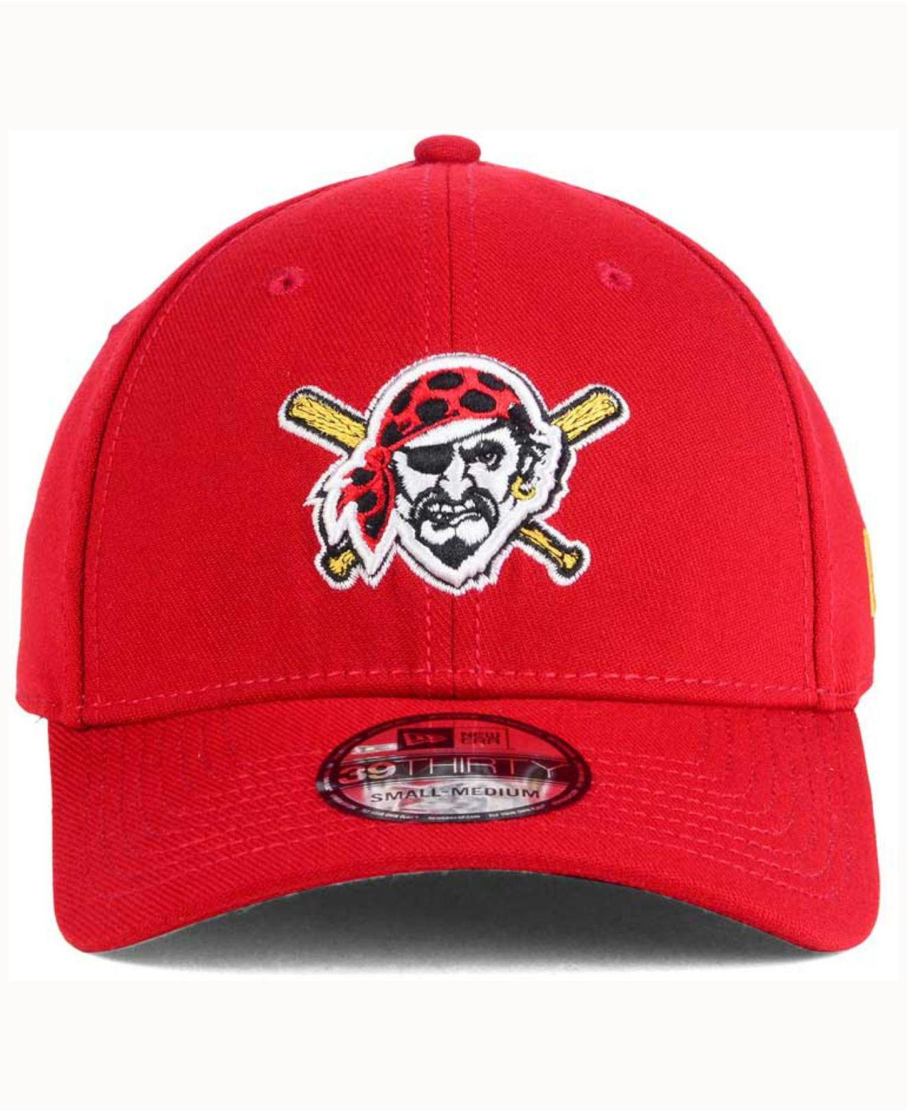 brand new 9ccba 1b592 Lyst - KTZ Pittsburgh Pirates Coop 39thirty Cap in Red for Men