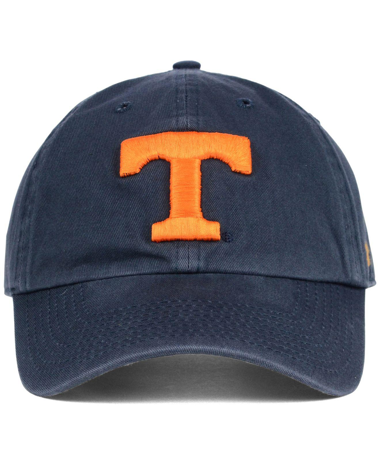 huge discount 57f2c 22766 ... coupon code lyst 47 brand tennessee volunteers clean up cap in blue for  men 55a3a 40232