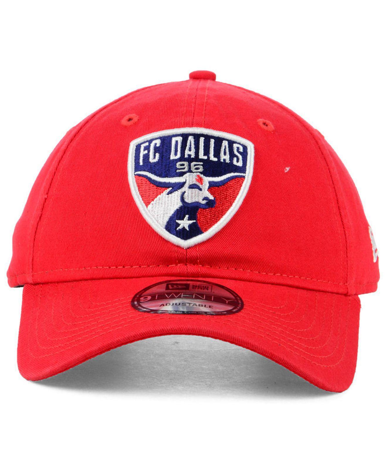 detailed pictures 9e493 00db6 ... uk lyst ktz fc dallas core 9twenty strapback cap in red for men 2baf5  17a21