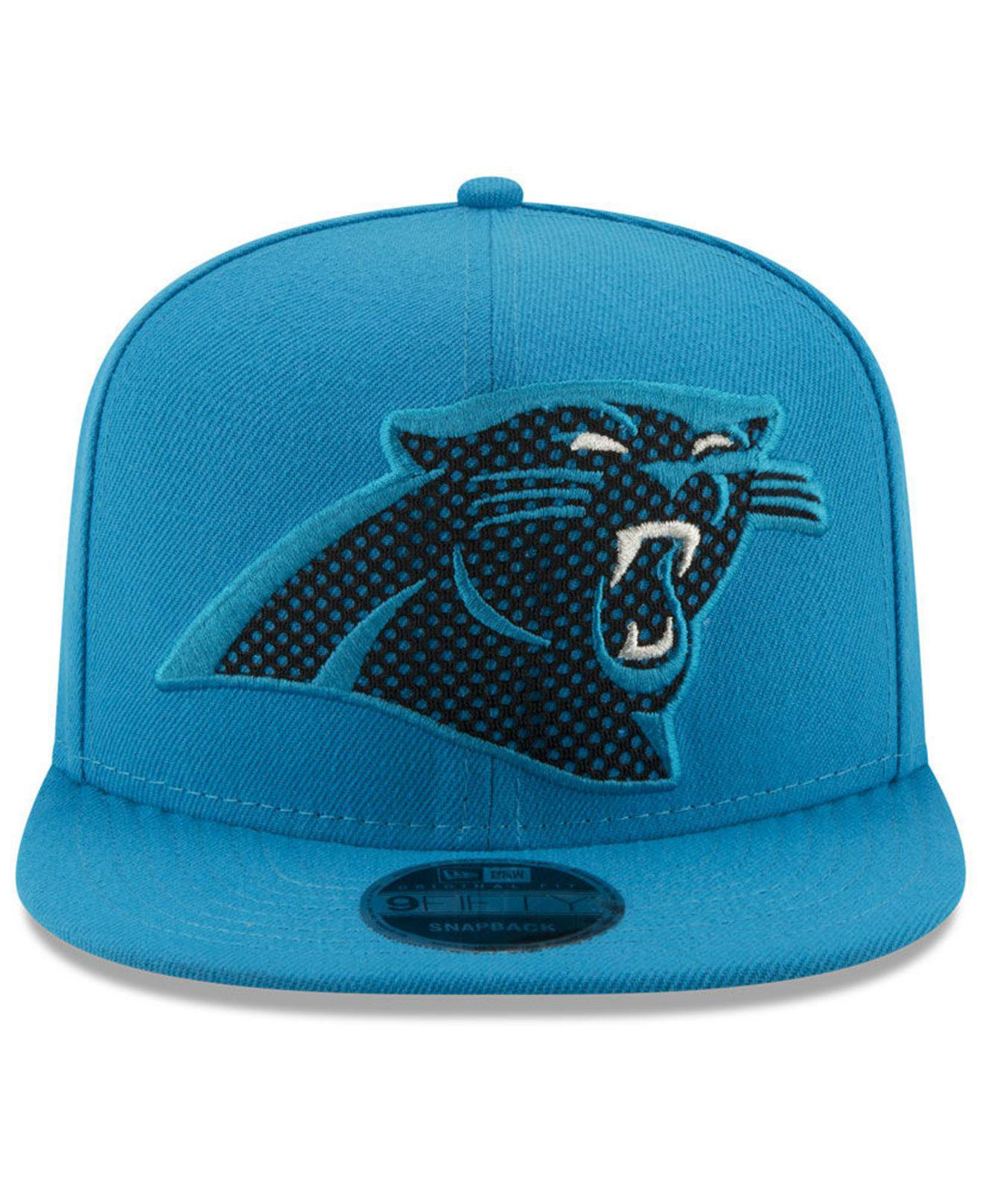 Lyst - Ktz Carolina Panthers Meshed Mix 9fifty Snapback Cap in Blue for Men e0259818db51
