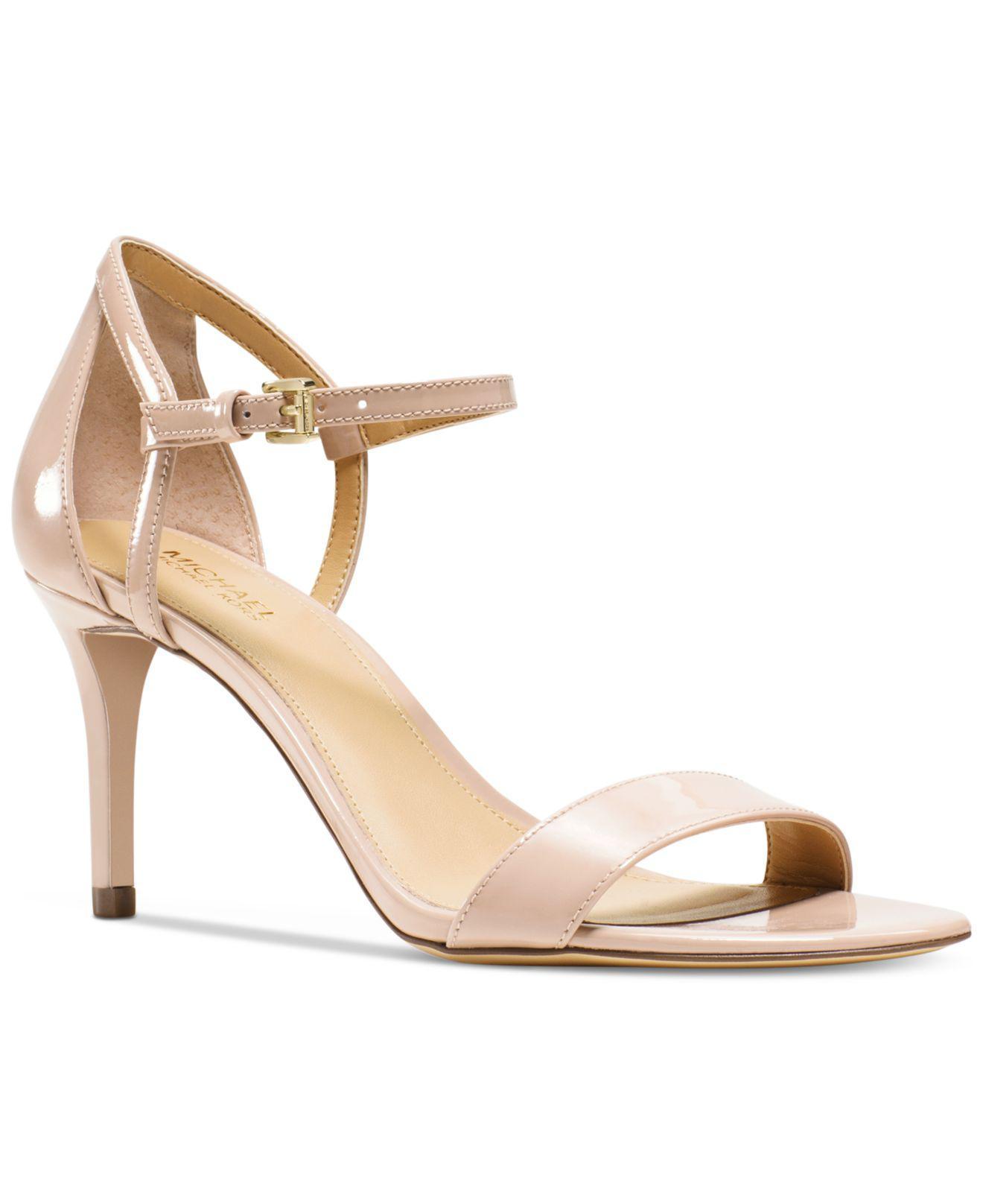 a0231d563f7d Lyst - Michael Kors Simone Dress Sandals - Save 2%